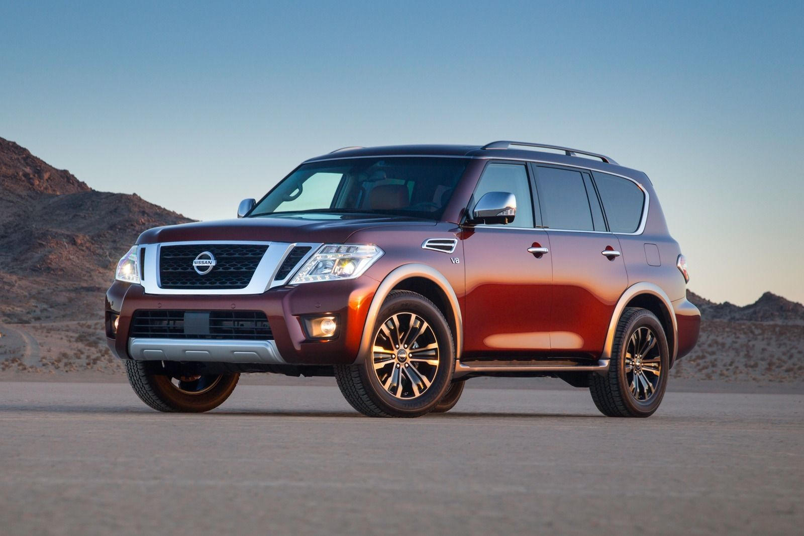 2020 Nissan Armada Review Trims Specs Price New Interior Features Exterior Design And Specifications Carbuzz