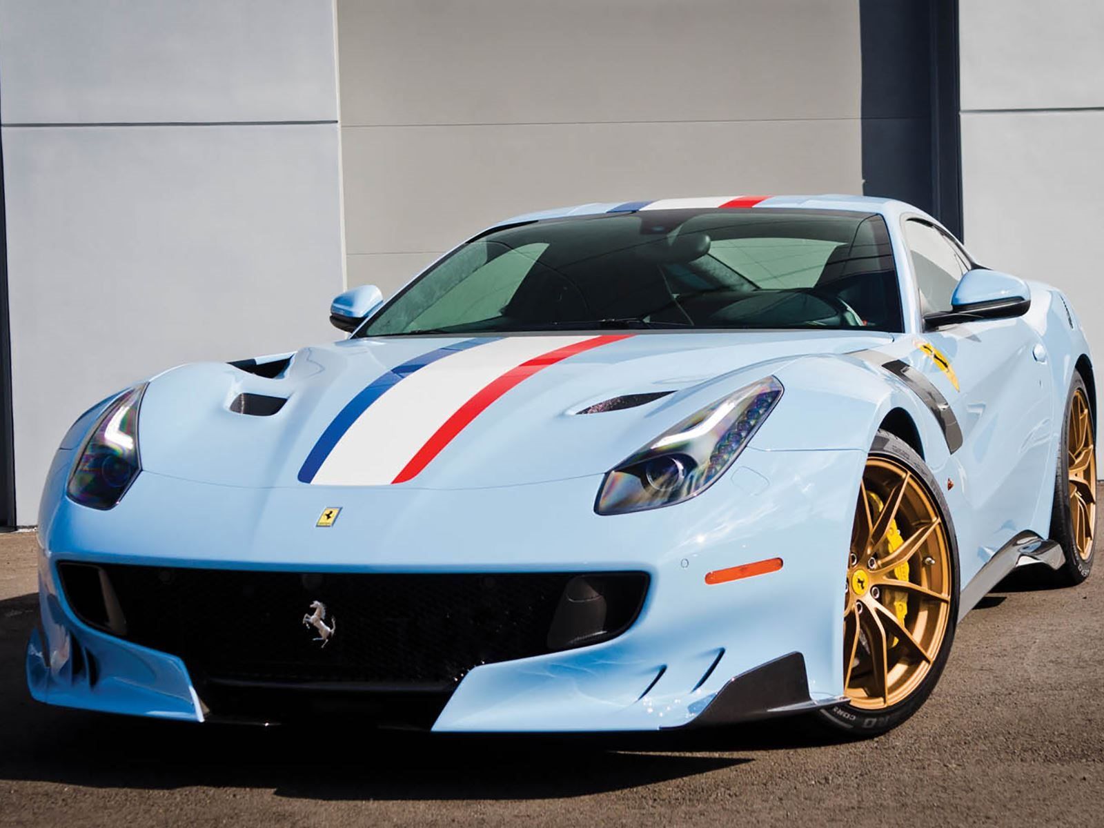 This Ferrari F12 tdf Features A Unique Livery That Lives Up