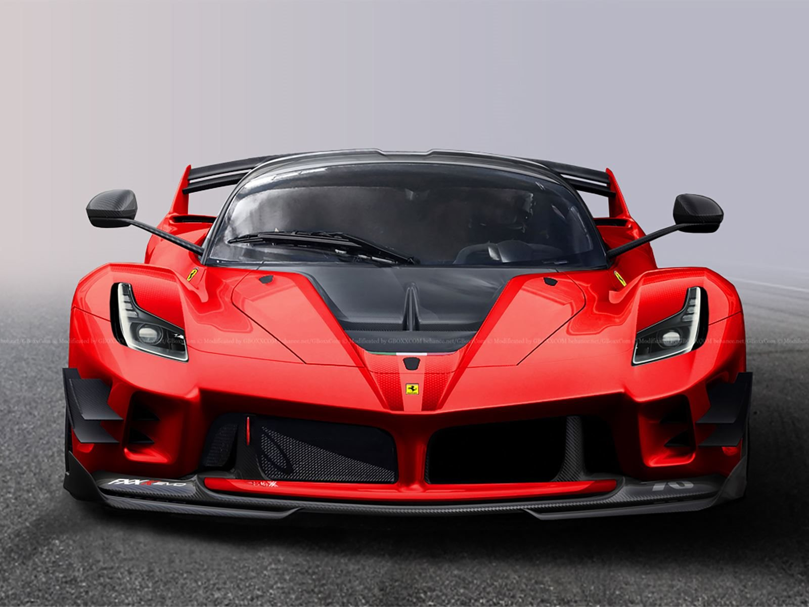 A Street Legal Ferrari Fxx K Evo Would Be The Definition Of Insanity Carbuzz