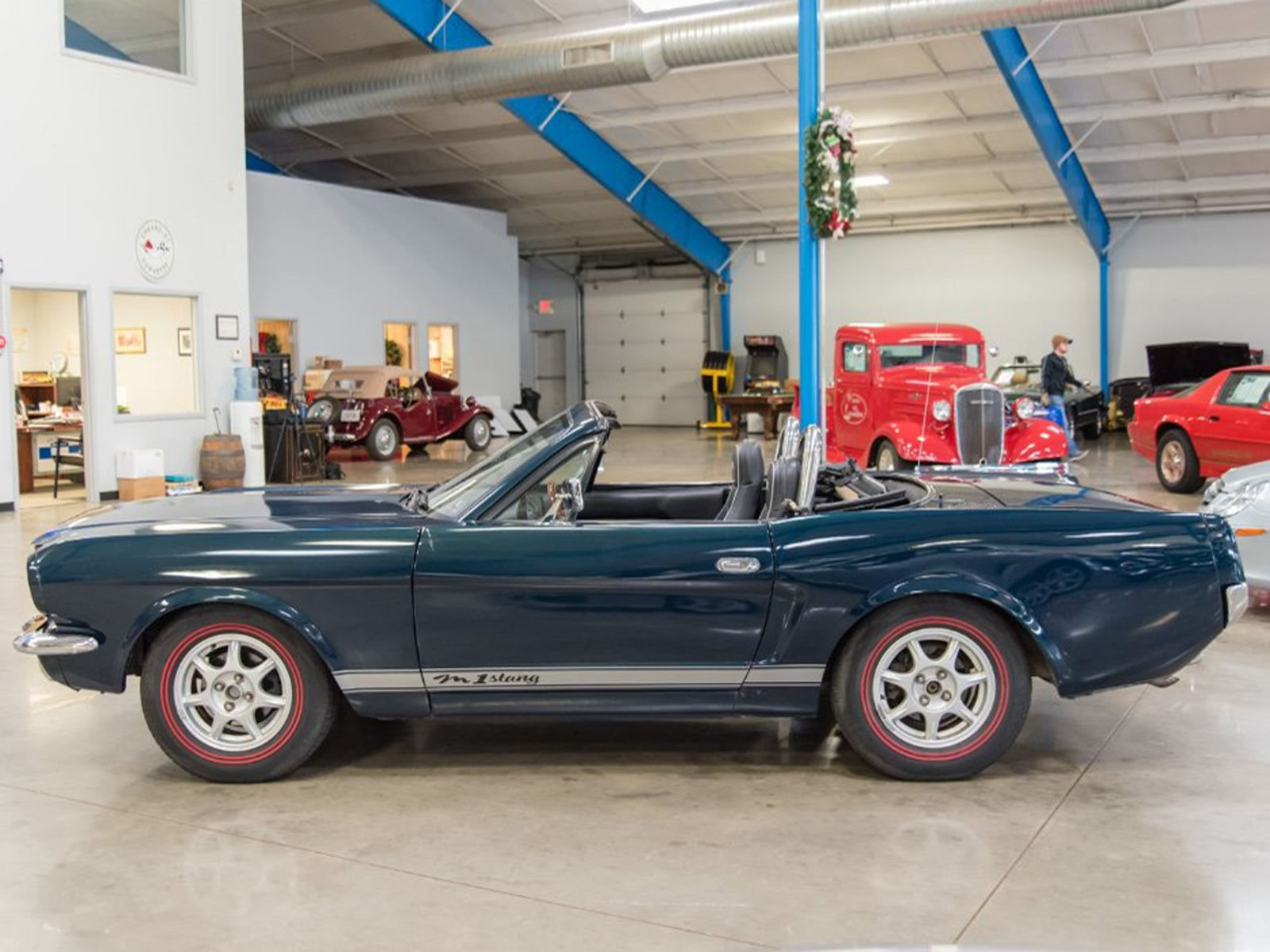 What Crackpot Converted This Mazda Miata Into A 1965 Mustang