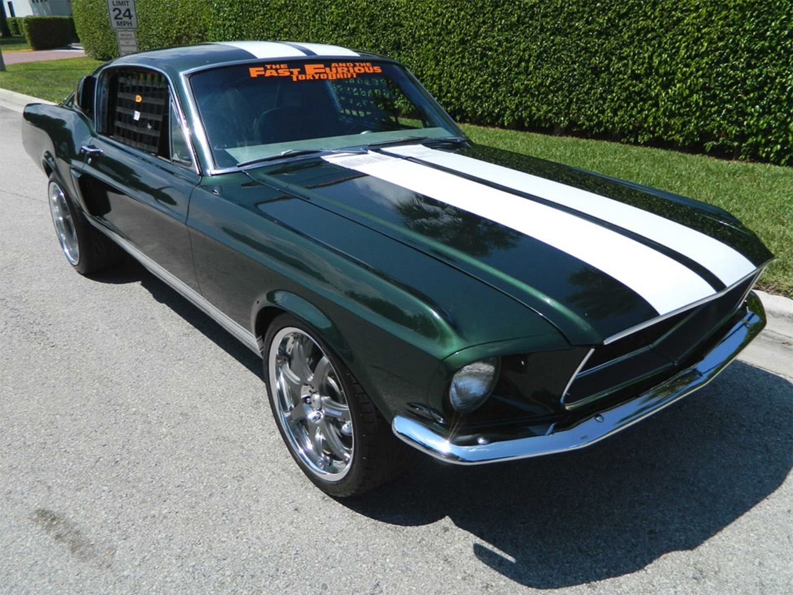 1967 Ford Mustang With Rb26 Engine