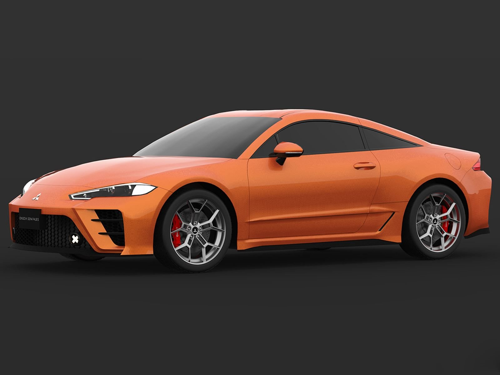 Too Bad This 2020 Mitsubishi Eclipse Rendering Is Only A