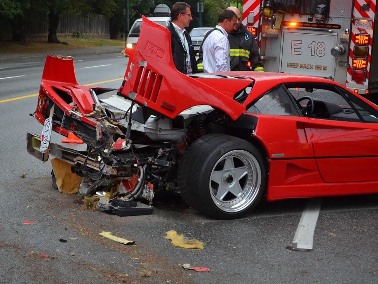 Ferrari F40 Owner Sues Insurer For Not Covering 1 Million Repair Cost Carbuzz