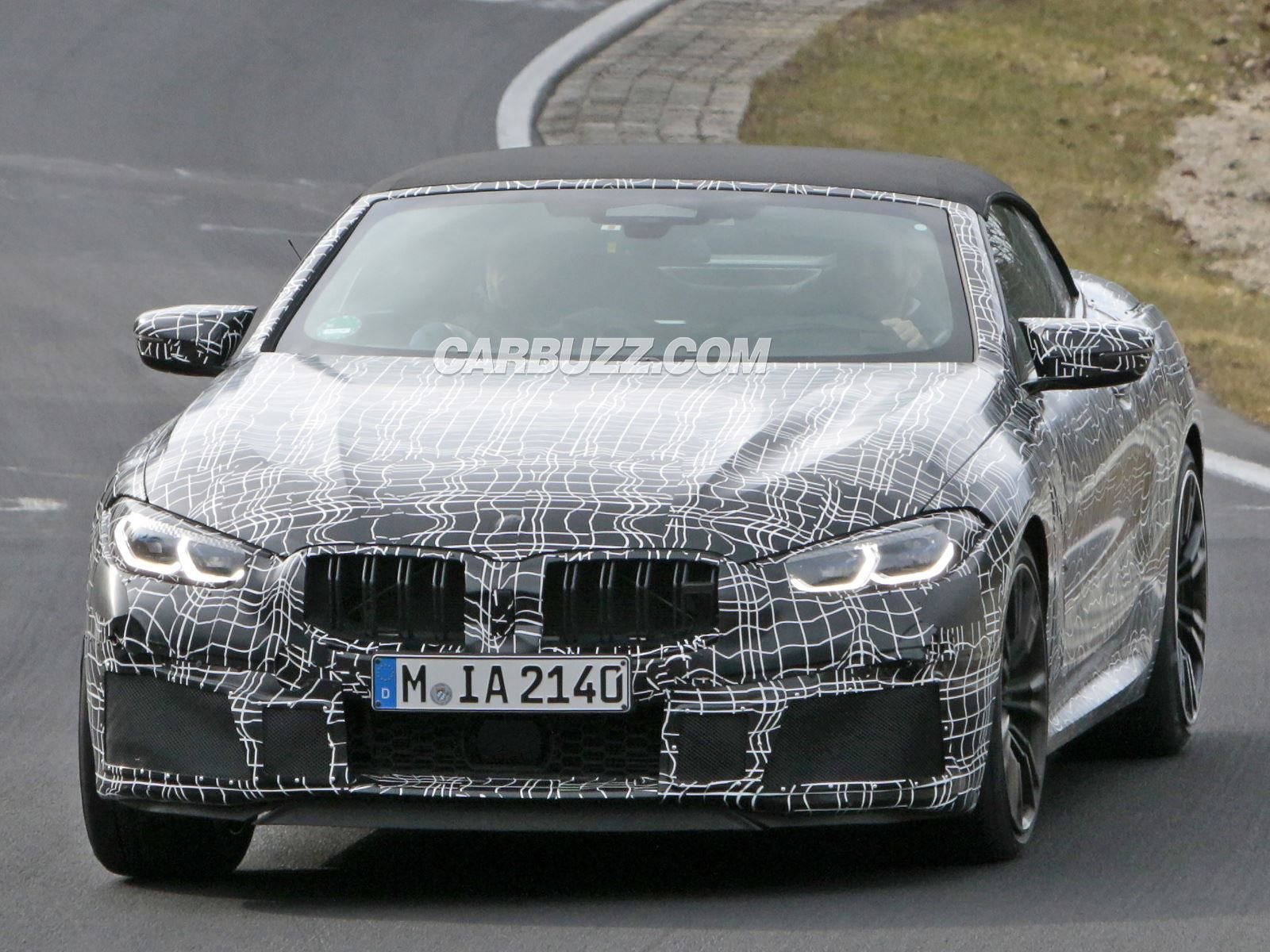 The Bmw M8 Convertible Is Already Testing At The Nurburgring Carbuzz