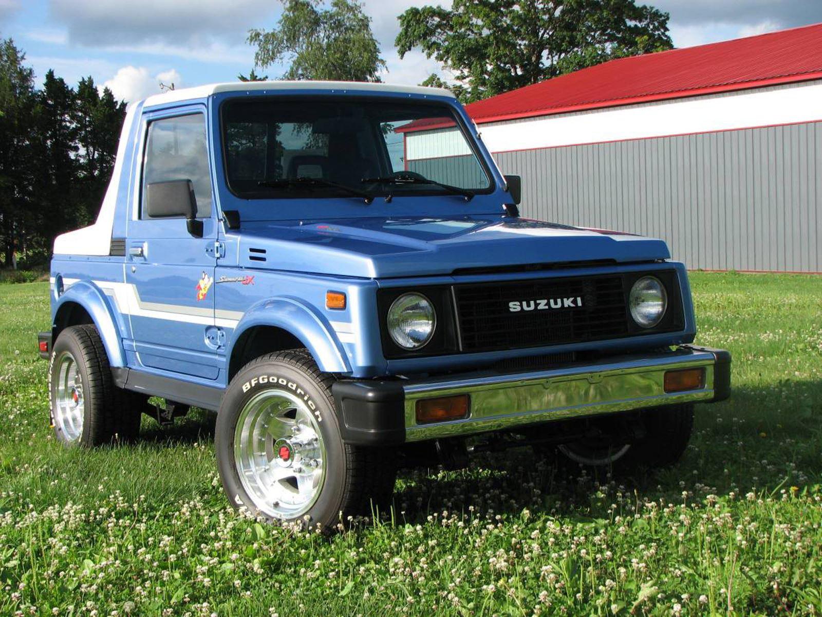 Weekly Craigslist Hidden Treasure: 1986 Suzuki Samurai JX 4x4   CarBuzz