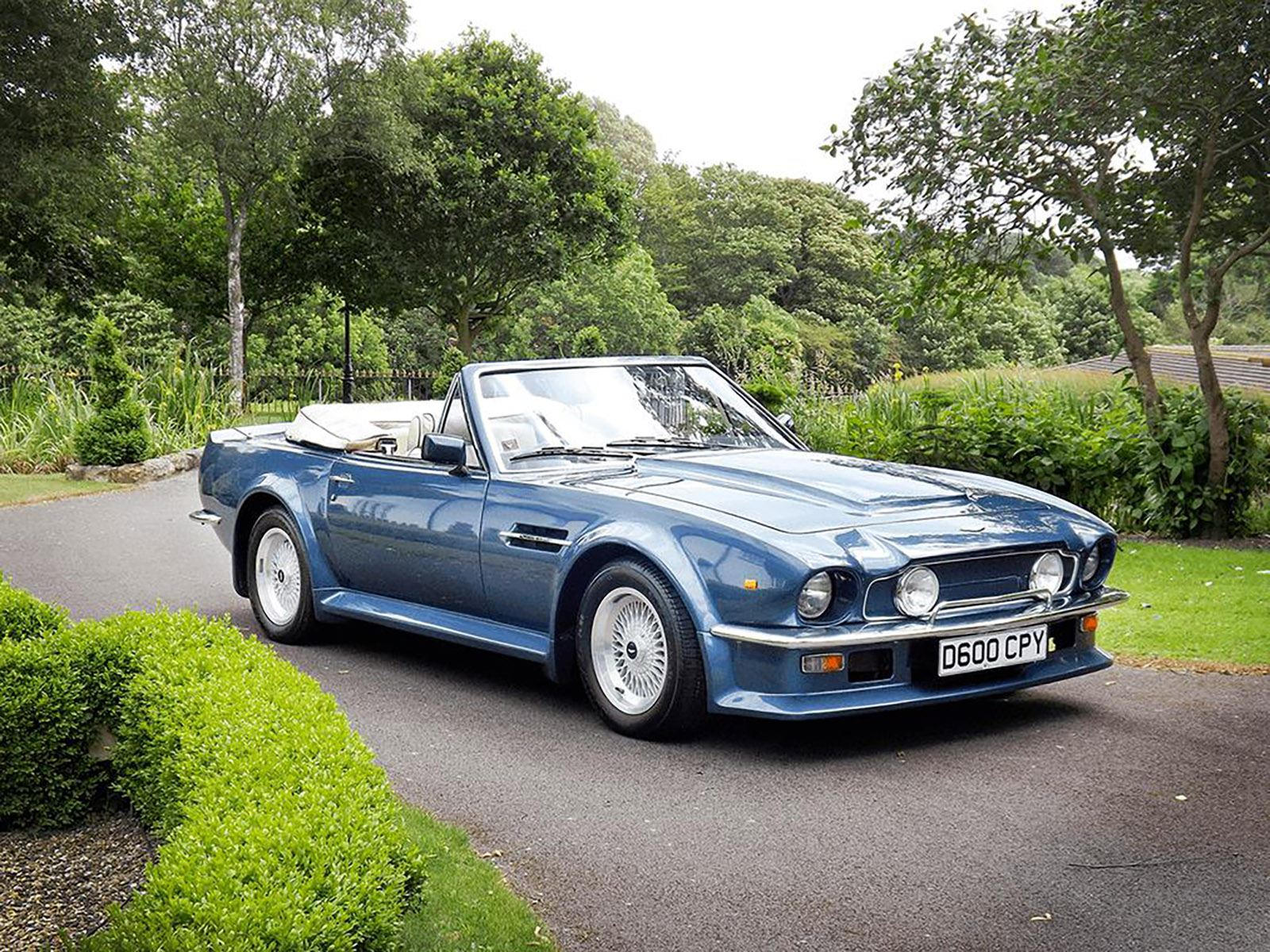 Rare Aston Martin Vantage Volante X Pack Is One Of 78 In The World Carbuzz