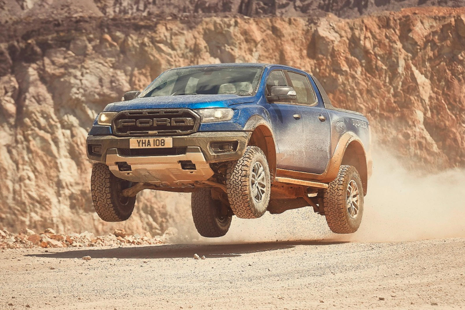 9a646bbf32 2019 Ford Ranger Raptor Debuts In Europe With 210-HP Diesel