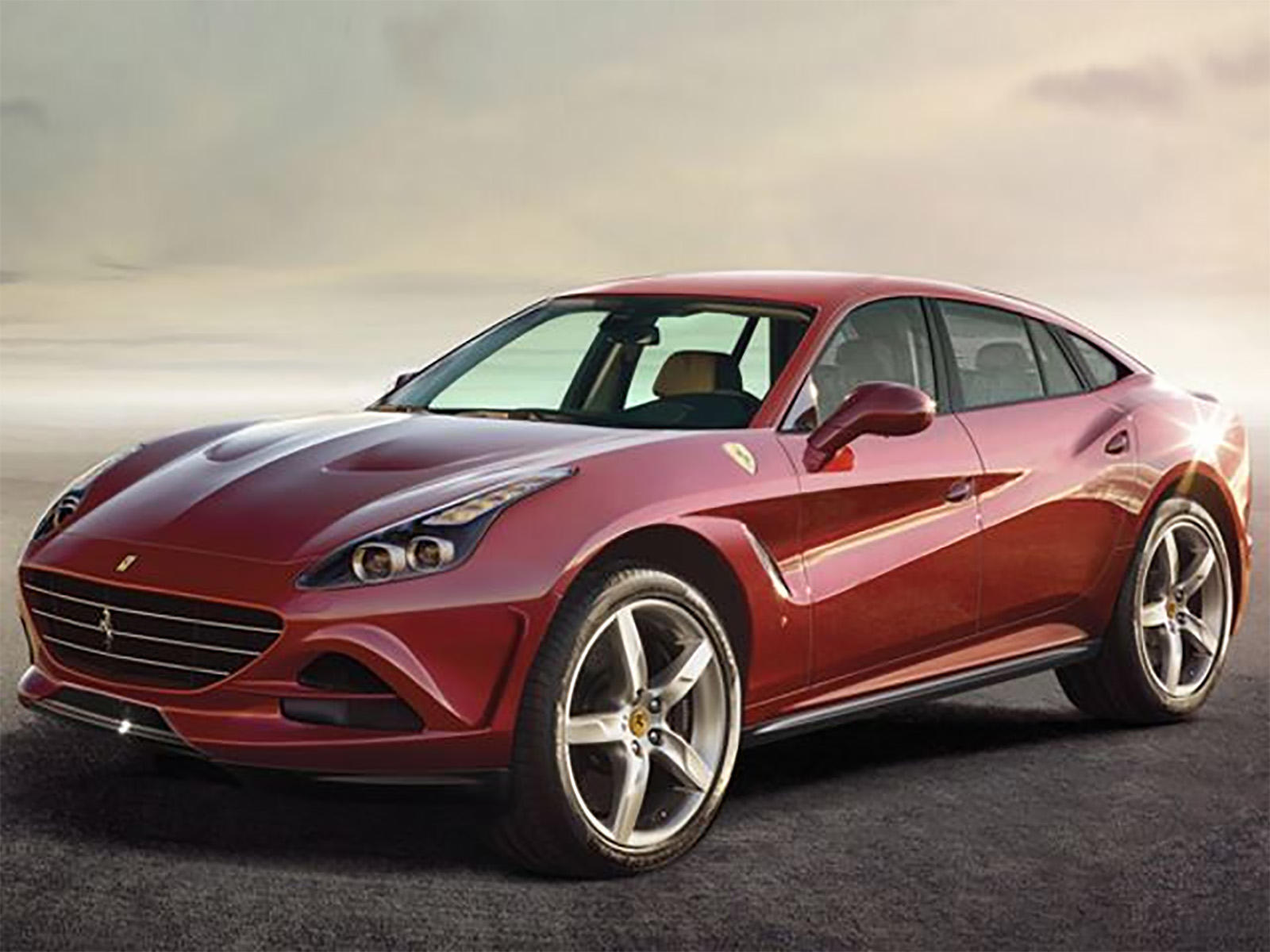 ferrari reveals the name of its all new suv carbuzz