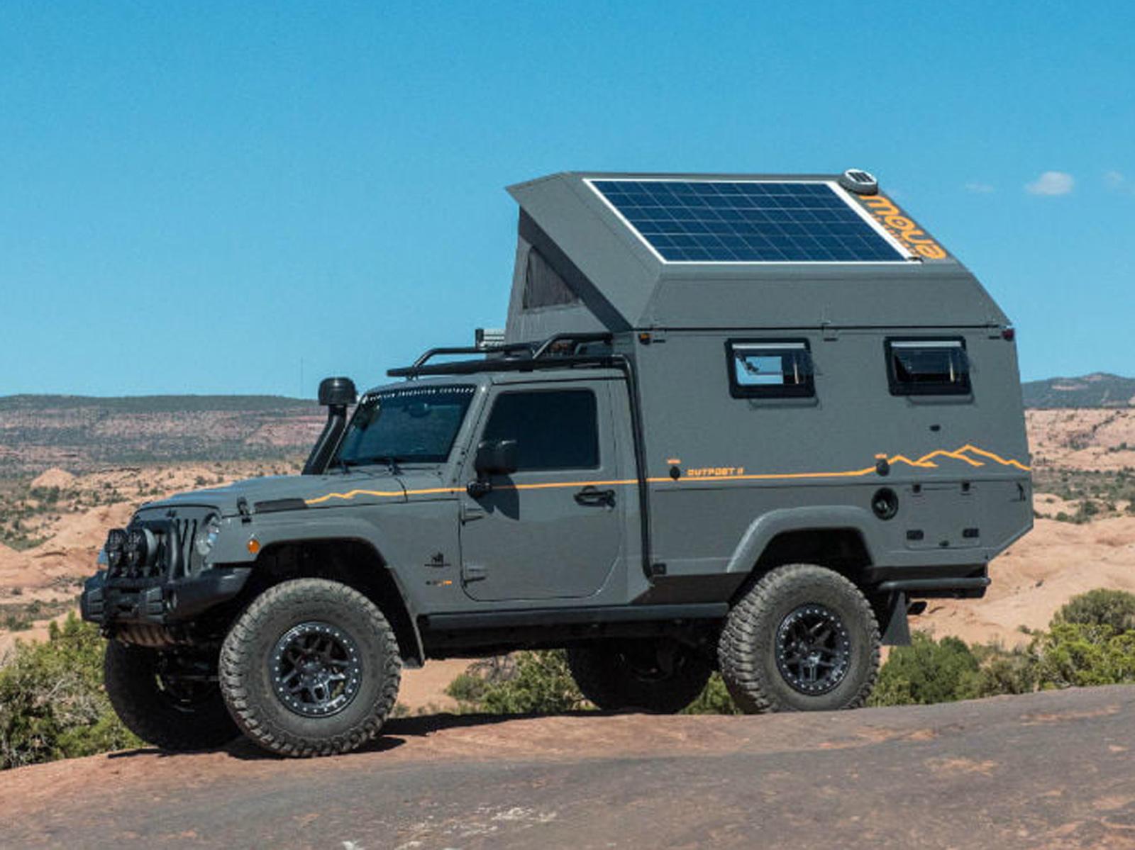 this jeep wrangler based camper is your ultimate mobile. Black Bedroom Furniture Sets. Home Design Ideas