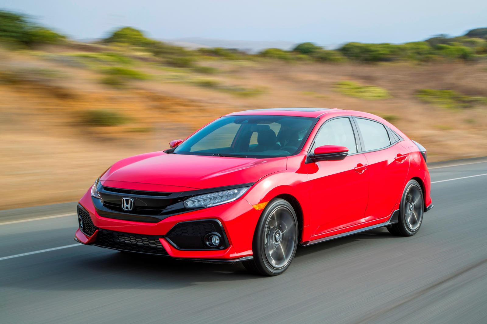 2020 Honda Civic Hatchback Trims Specs Carbuzz