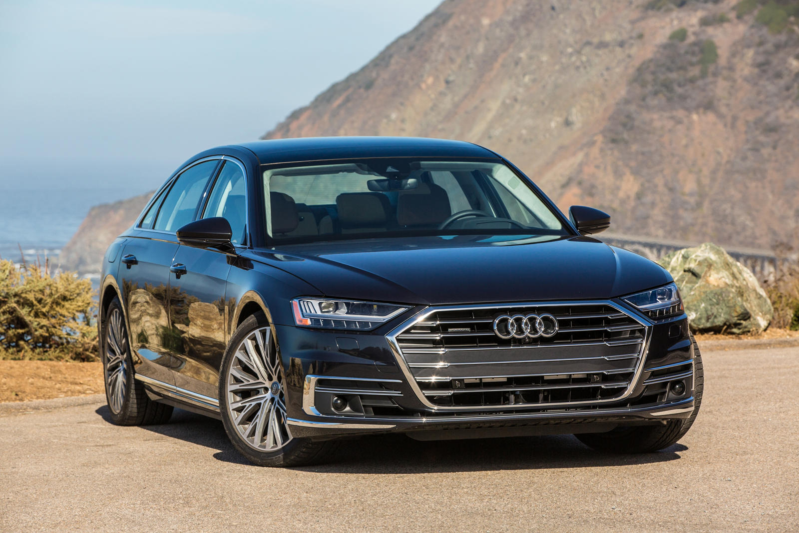 2020 Audi A8 L In Usa Spy Shoot