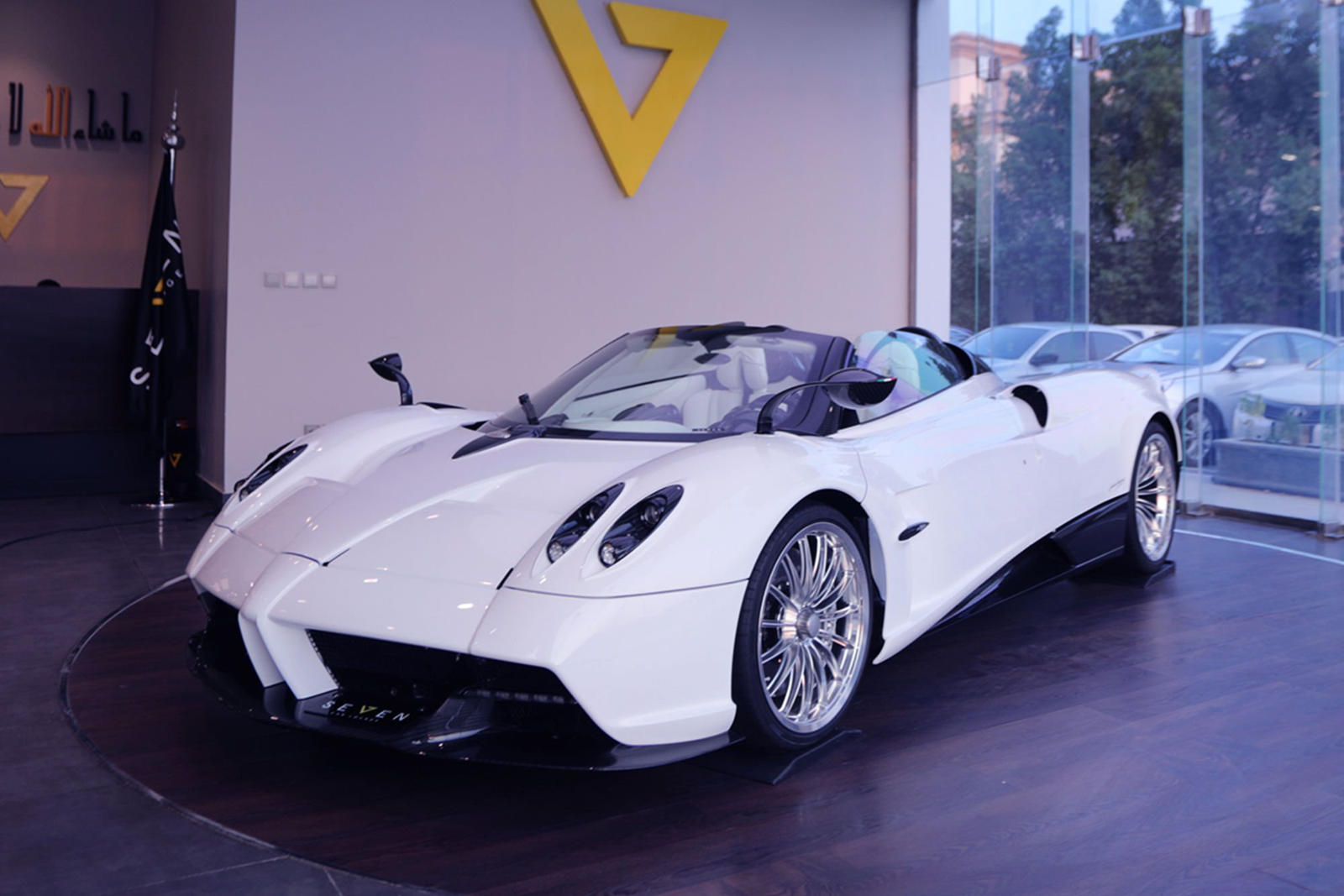 very first pagani huayra roadster can be yours - carbuzz