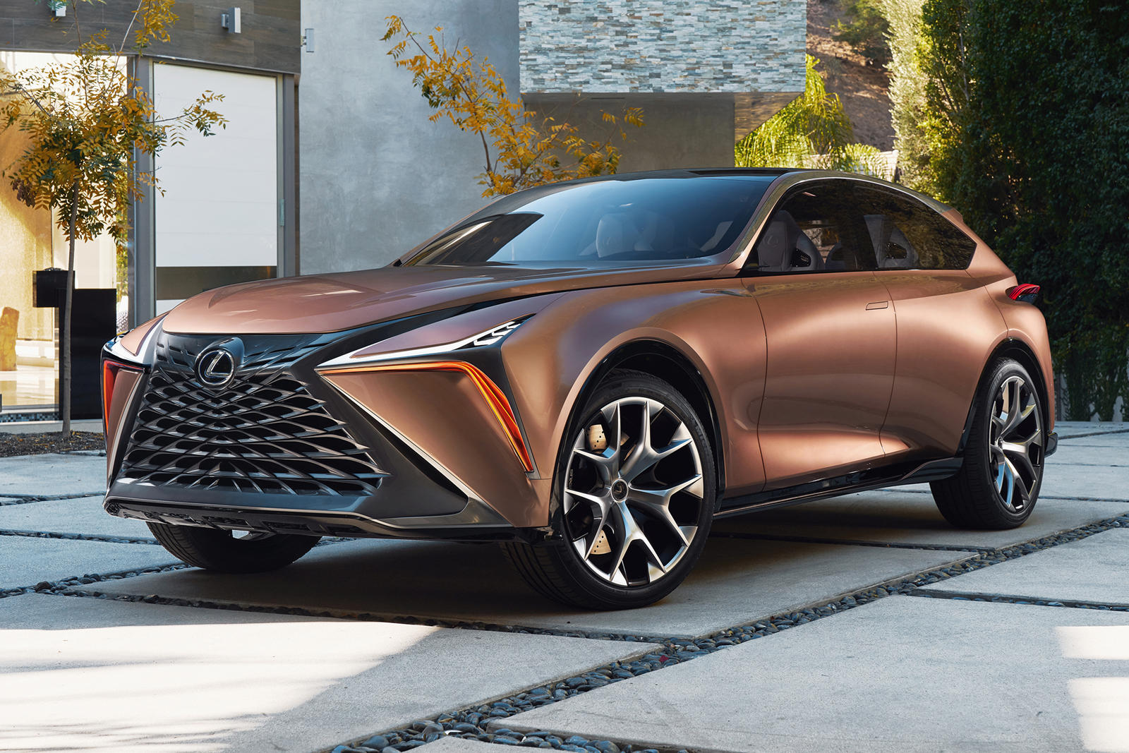 Lexus Plotting Electric Suv Carbuzz