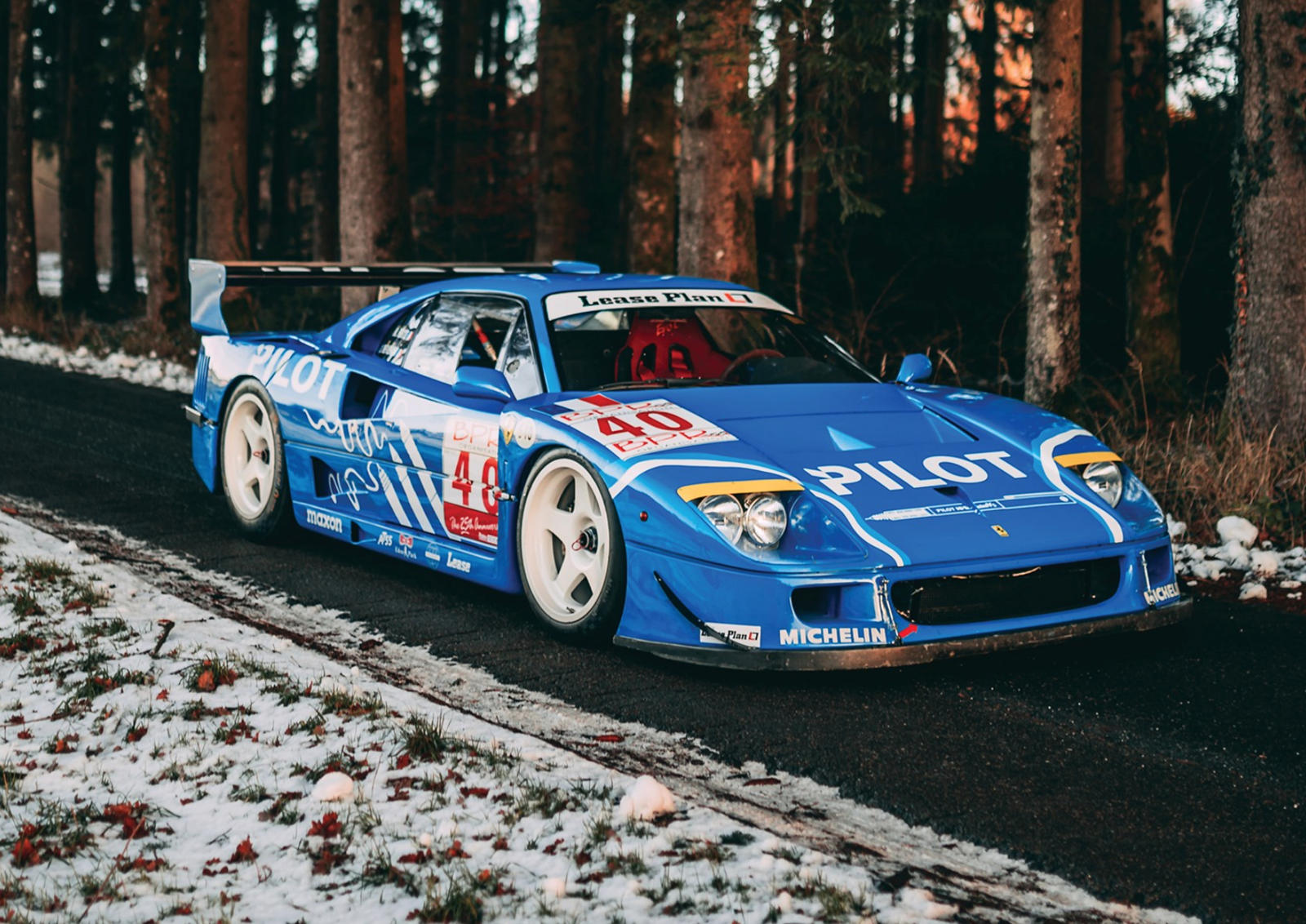 Why This Ferrari F40 Lm Is Worth Every Penny Of Its 6 Million Price