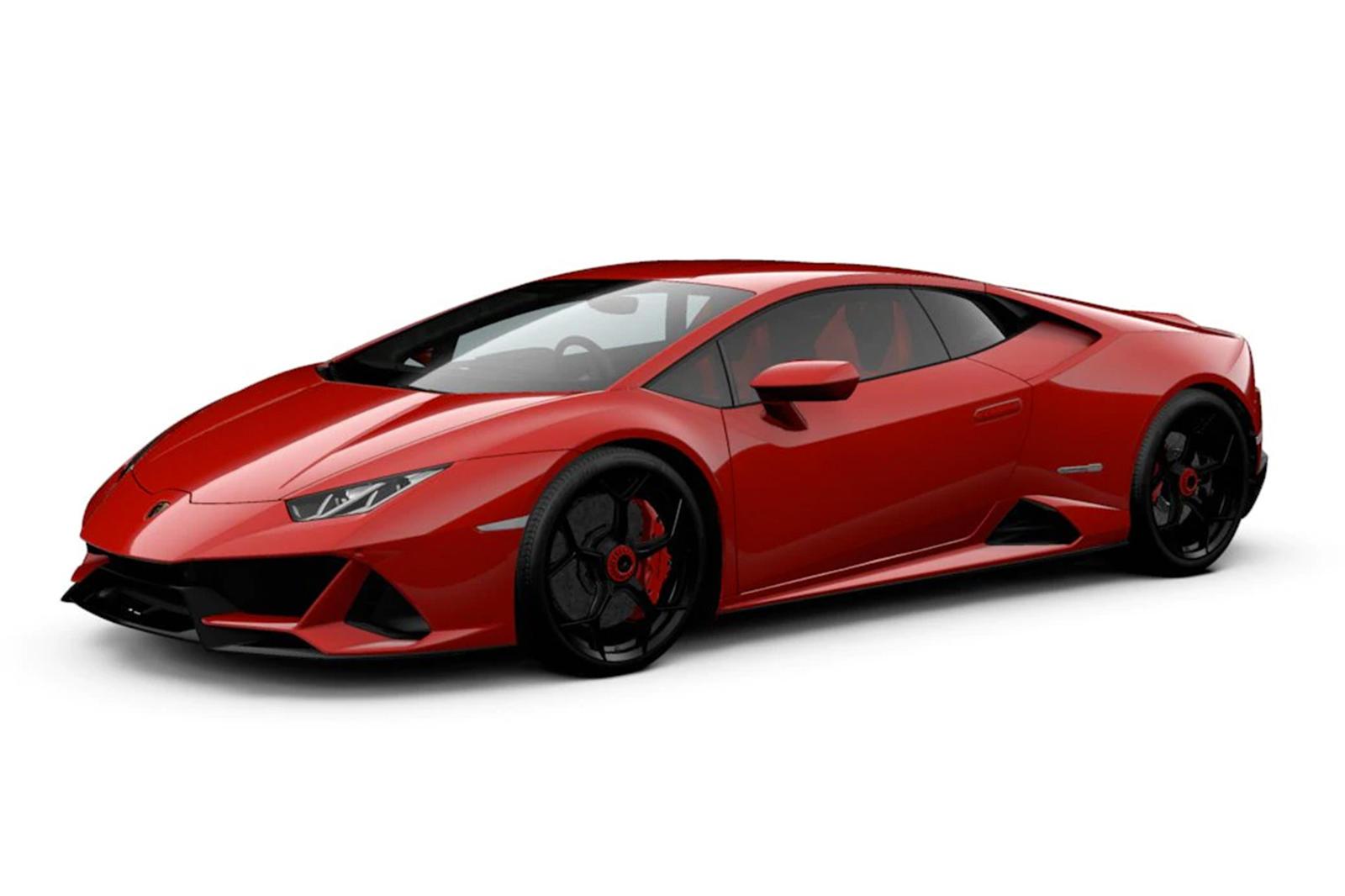 Waste Hours Configuring Your Dream Lamborghini Huracan Evo Carbuzz