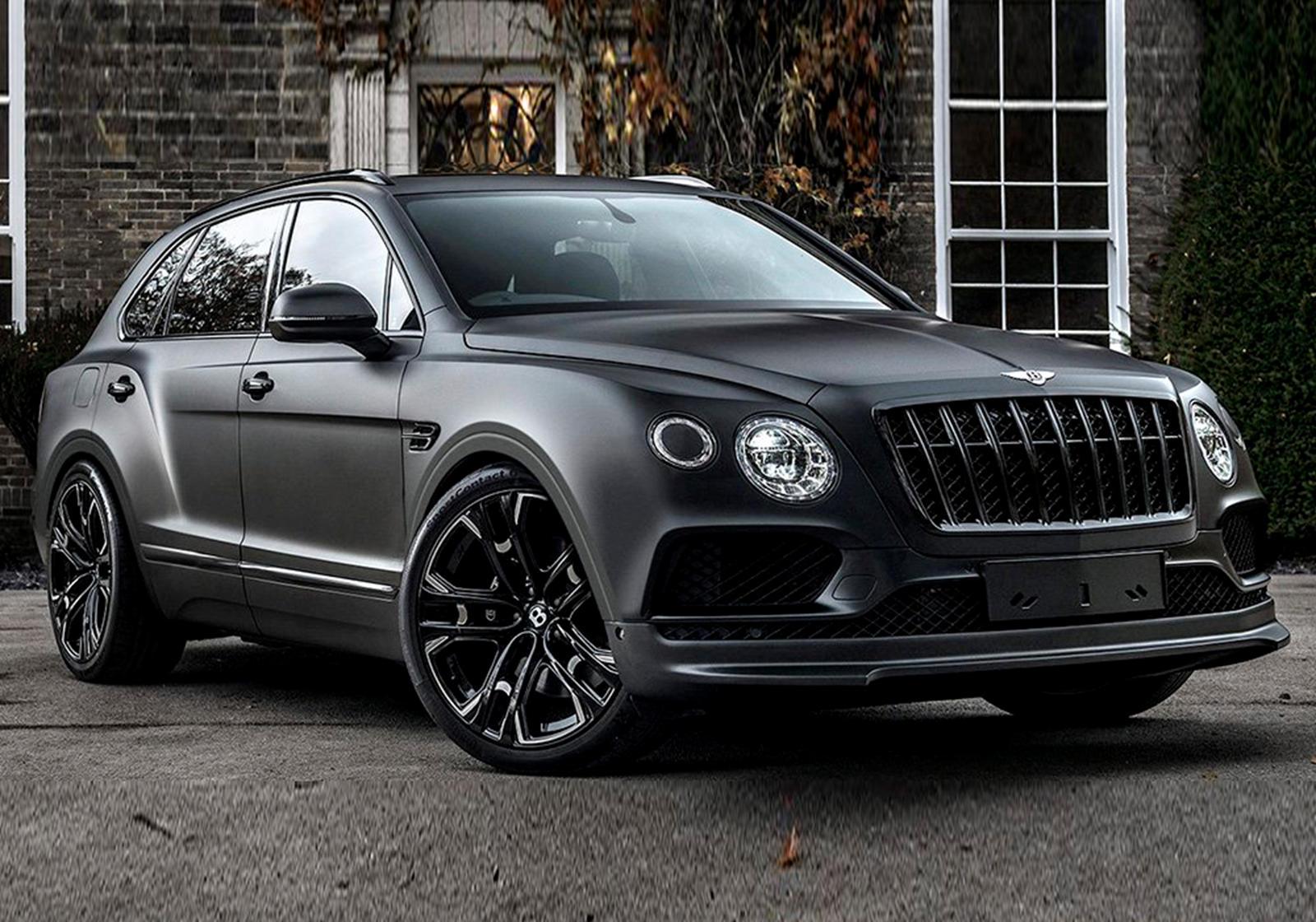 Bentley Bentayga Gets Menacing Makeover Carbuzz