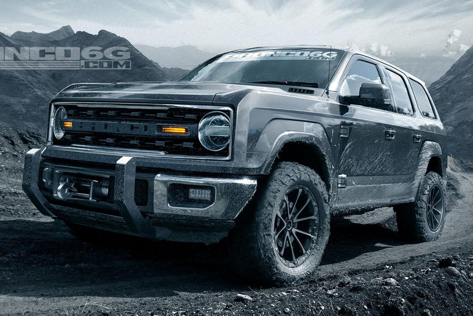2020 ford bronco will have a very familiar design carbuzz