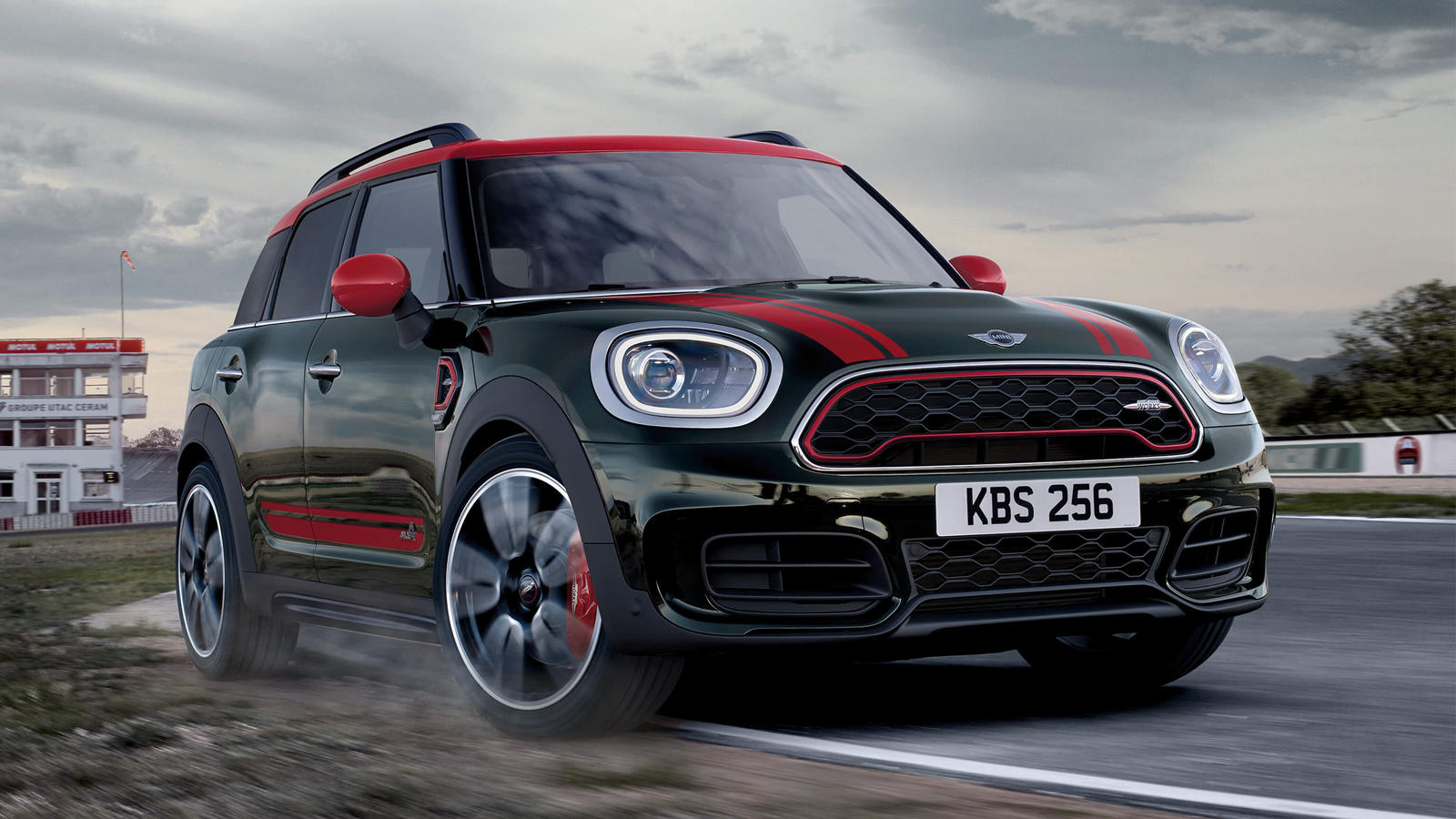 2020 mini jcw clubman and countryman coming with much more. Black Bedroom Furniture Sets. Home Design Ideas