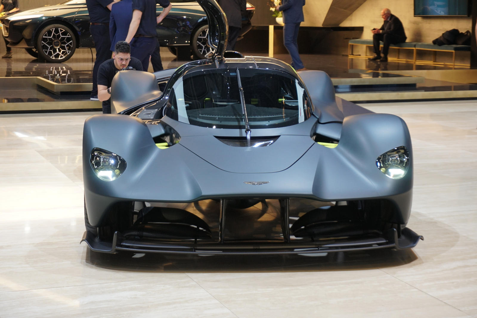 aston martin valkyrie's v12 weighs less than a v8 - carbuzz