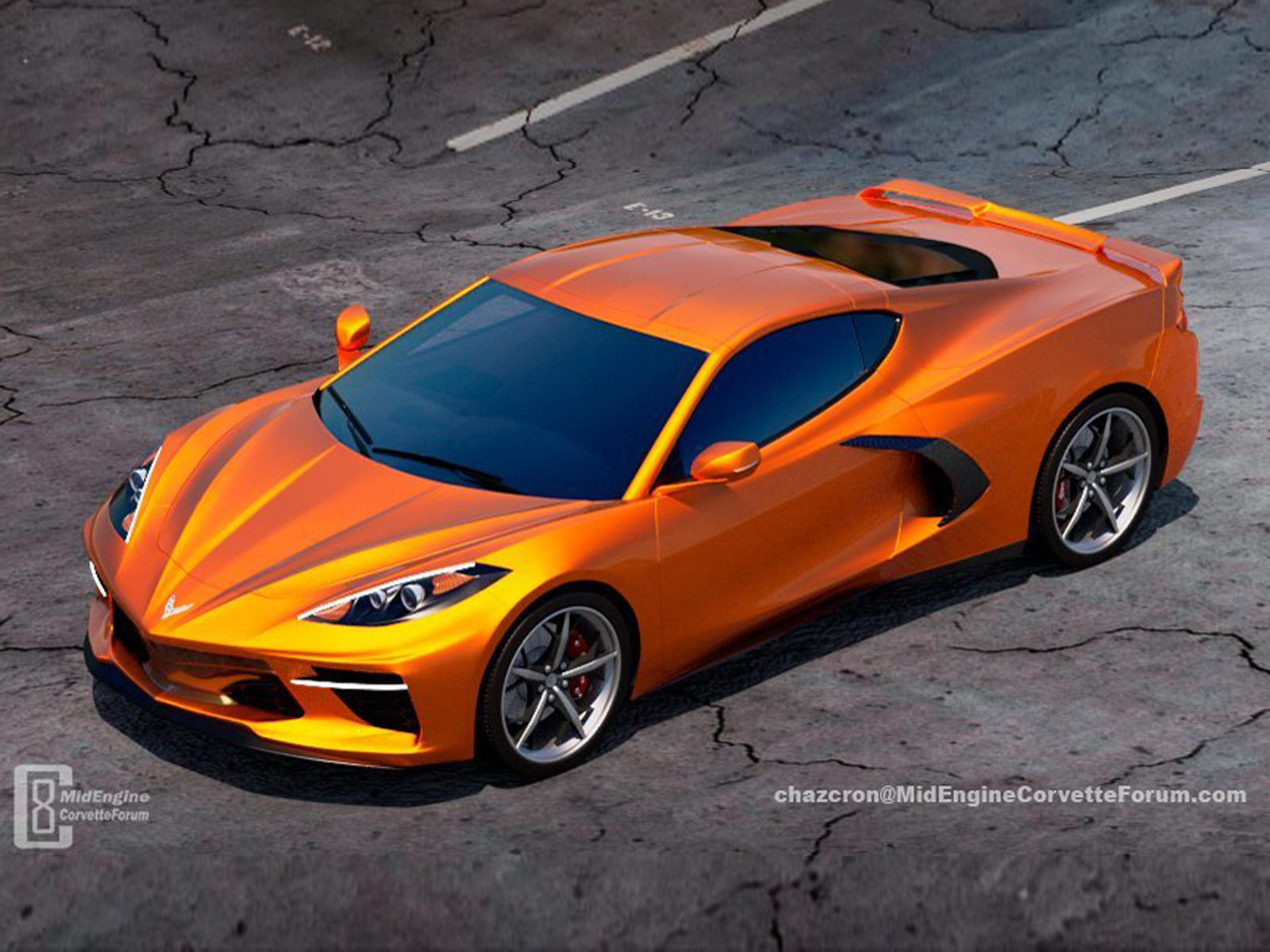 These C8 Corvette Renderings Are The Best You Ll Ever See