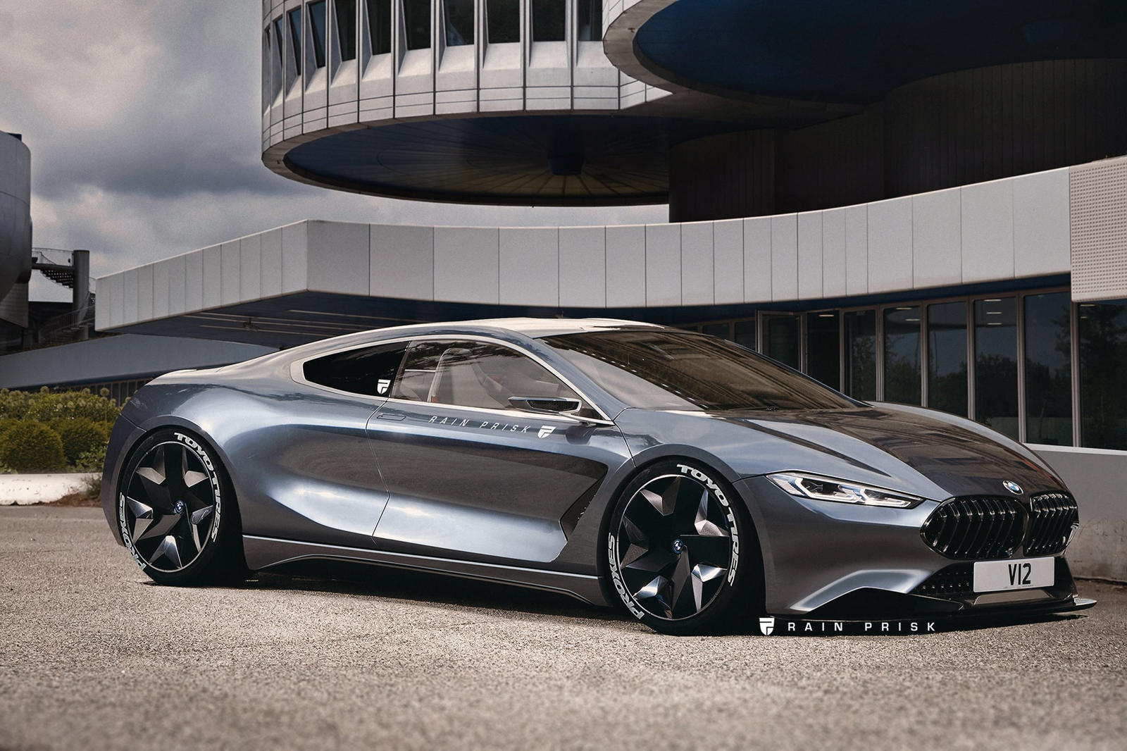 Bmw 8 Series Reimagined As Mid Engined Ferrari Fighter Carbuzz