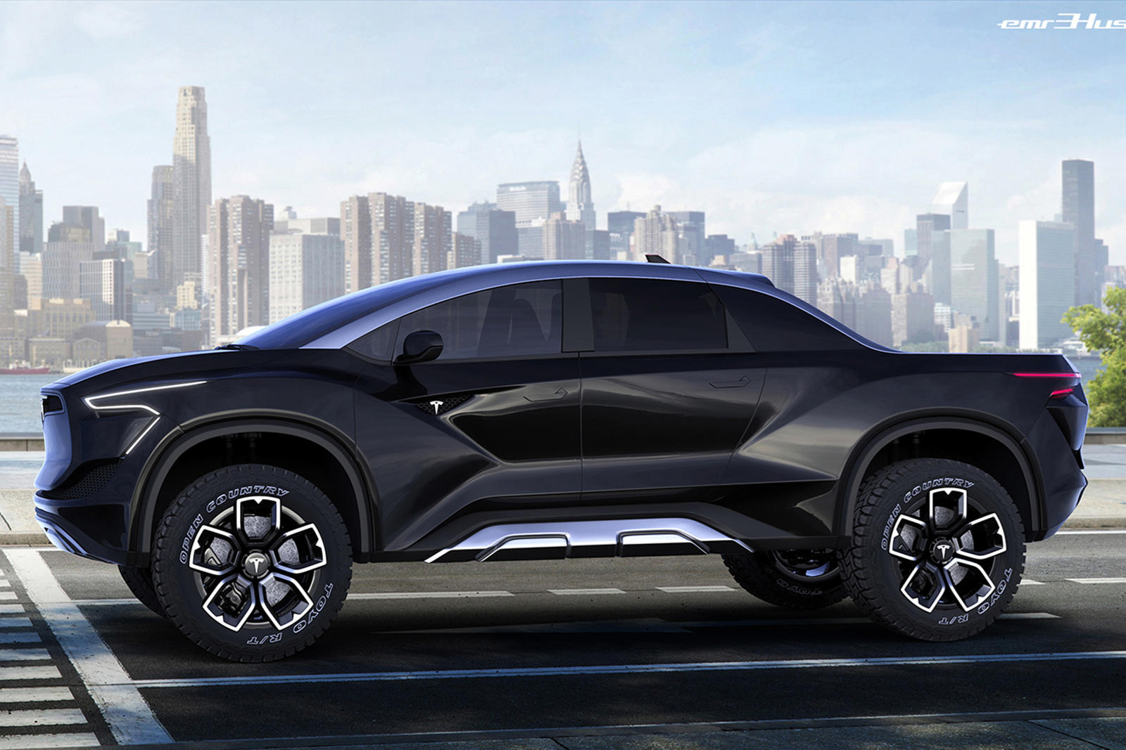 Tesla's New Truck Needs To Look Just Like This   CarBuzz