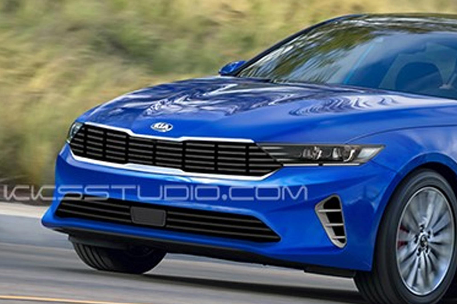 New Kia Optima Will Hopefully Look Better Than This