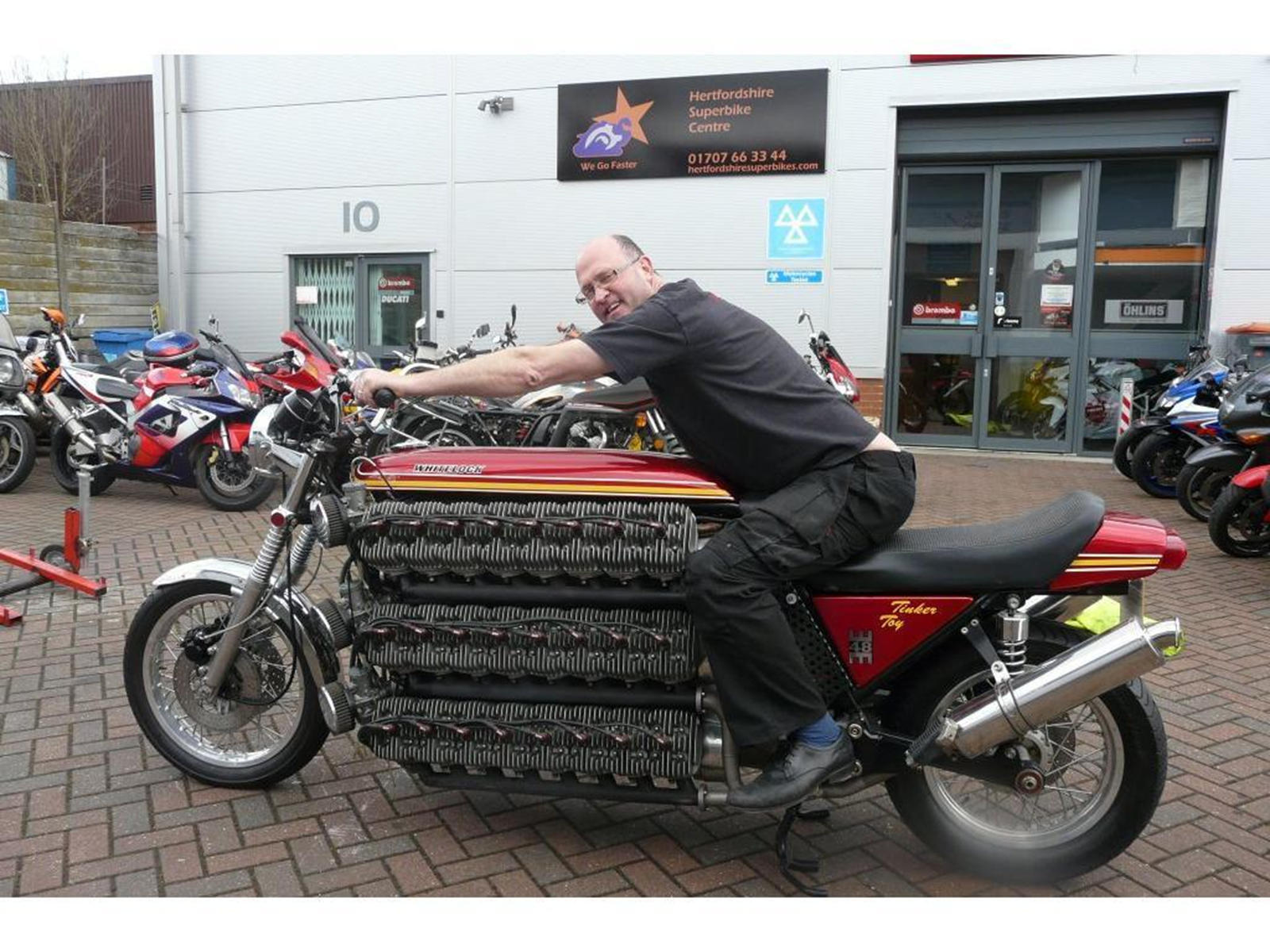 Weirdest Motorcycles You'll Ever See
