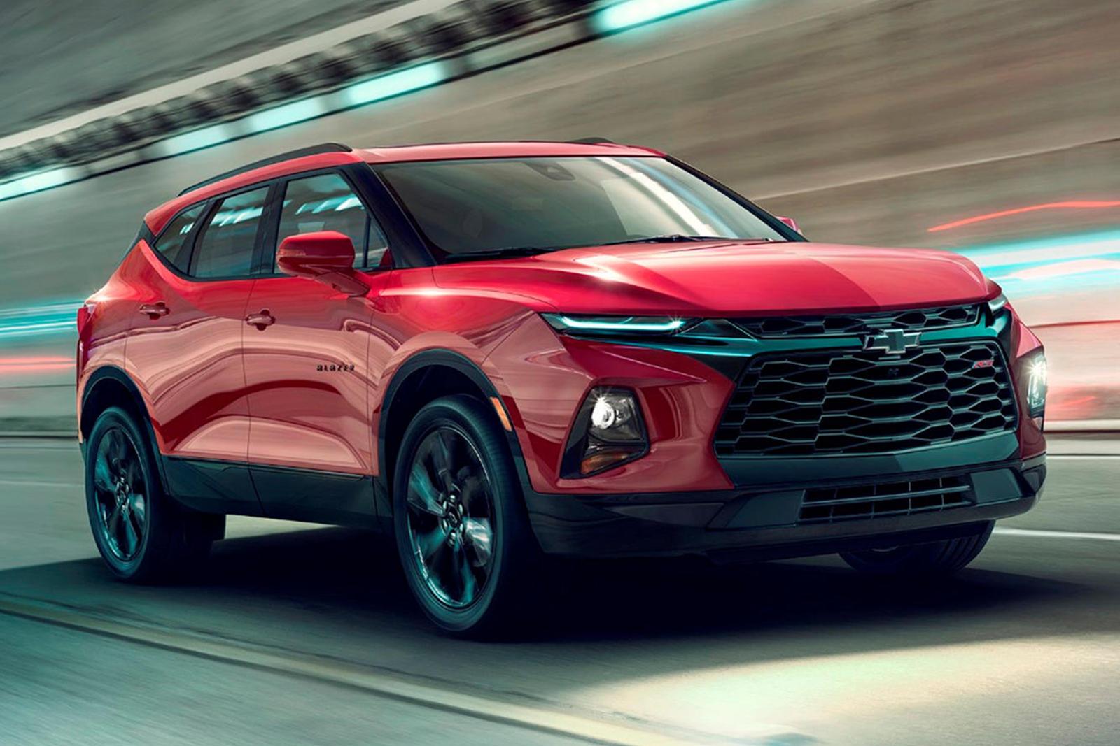 2020 Chevrolet Blazer Receiving A Slick Styling Upgrade
