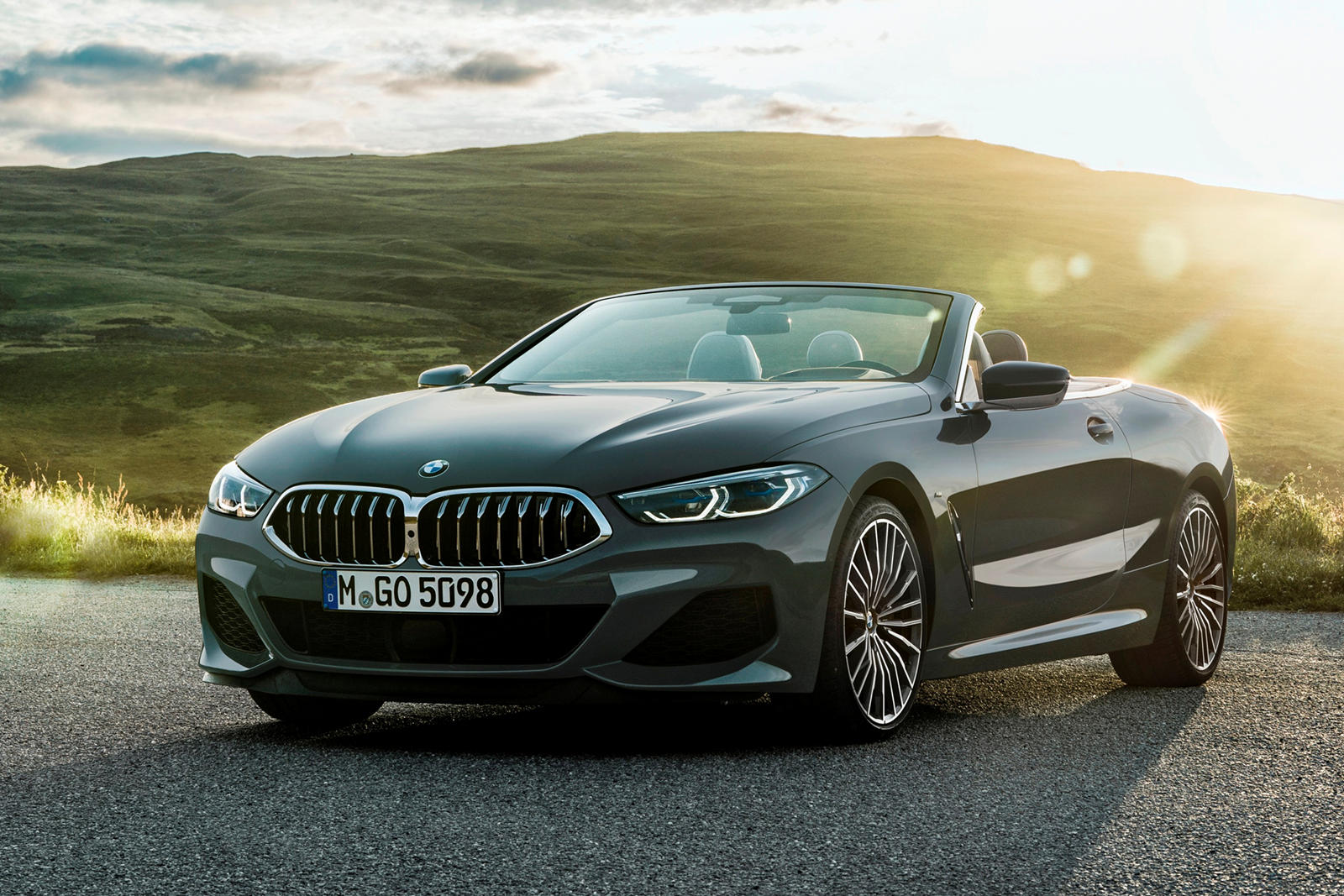 2019 Bmw 8 Series Convertible Interior Photos Carbuzz