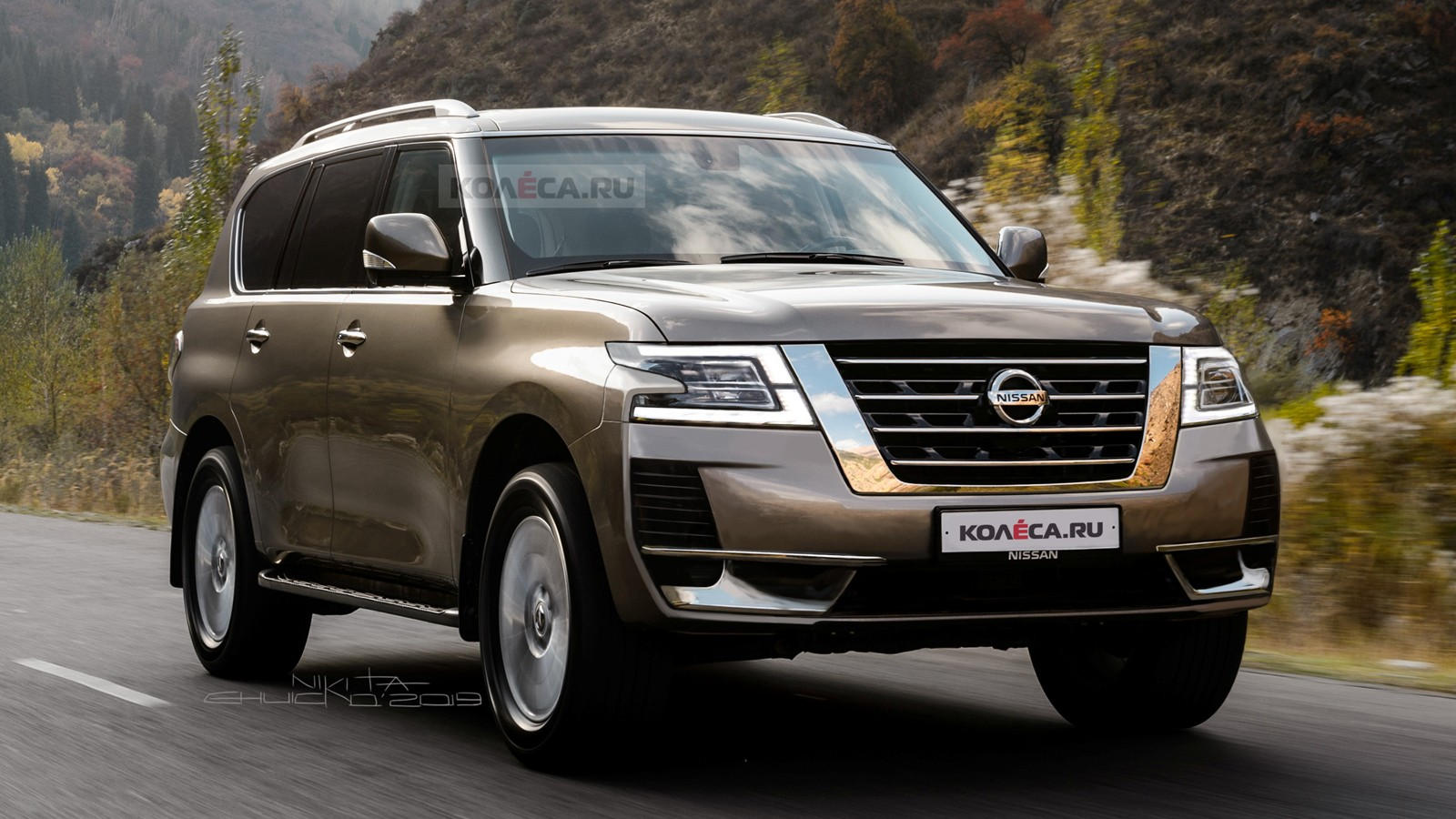 Is This Exactly What The New Nissan Armada Will Look Like ...
