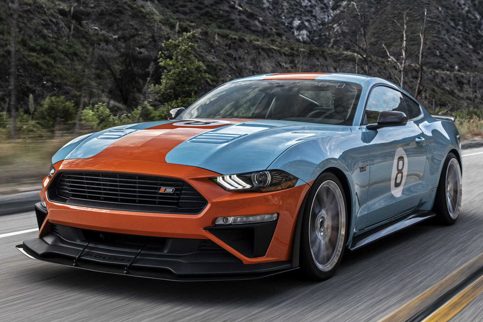 This 710-HP Track-Capable Roush Mustang Is Perfection