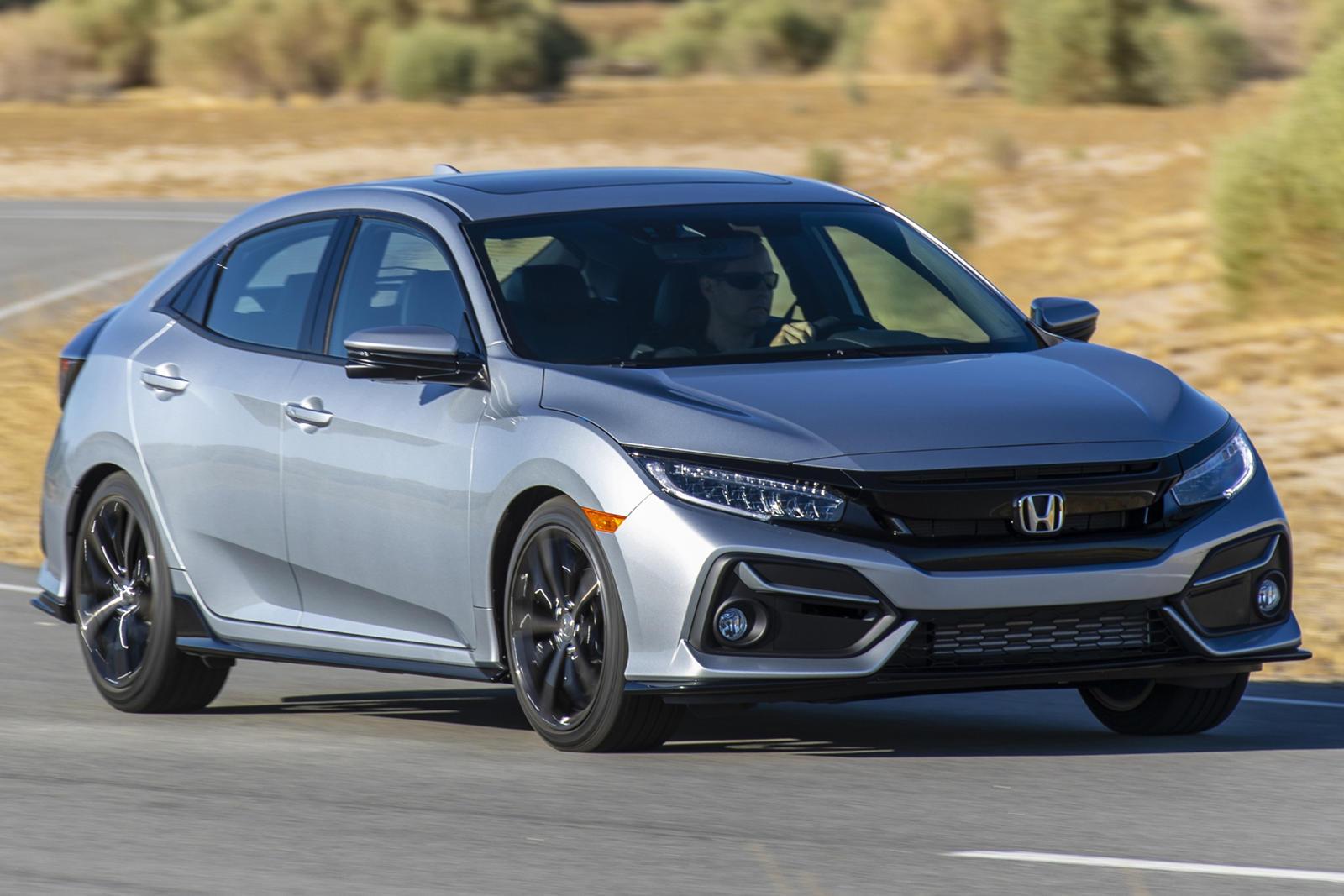 2020 Honda Civic Hatchback Reminds Us Manuals Still Matter