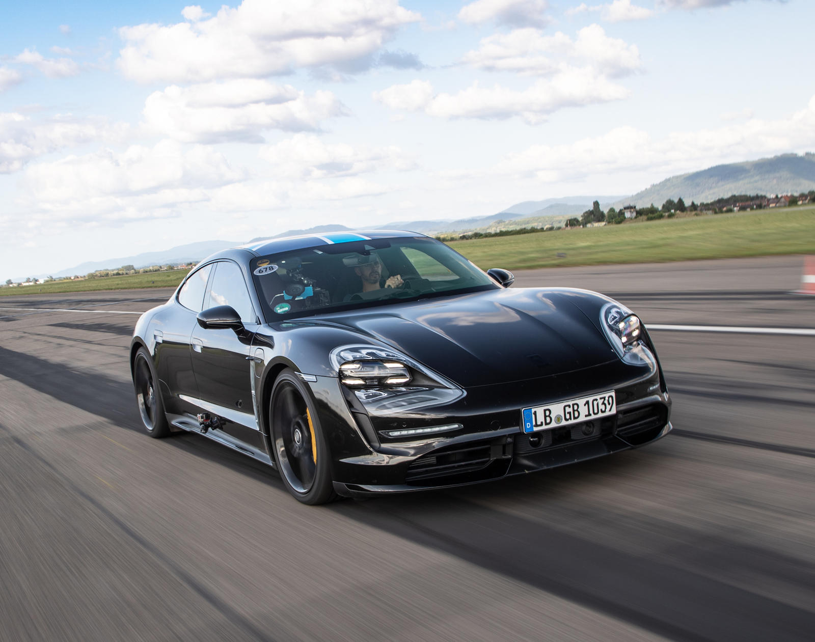 Porsche Taycan Already Embarrassing Tesla Model S