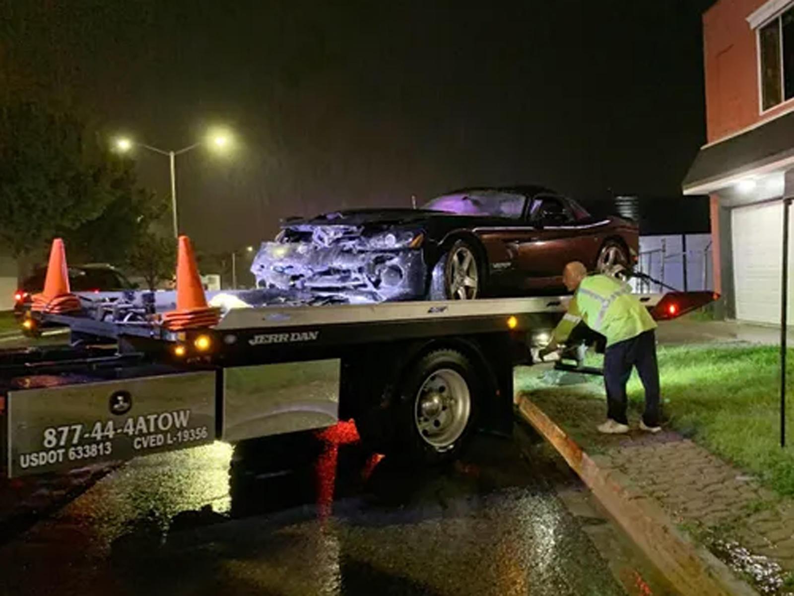 Dodge Viper Driver's Woodward Dream Cruise Ruined