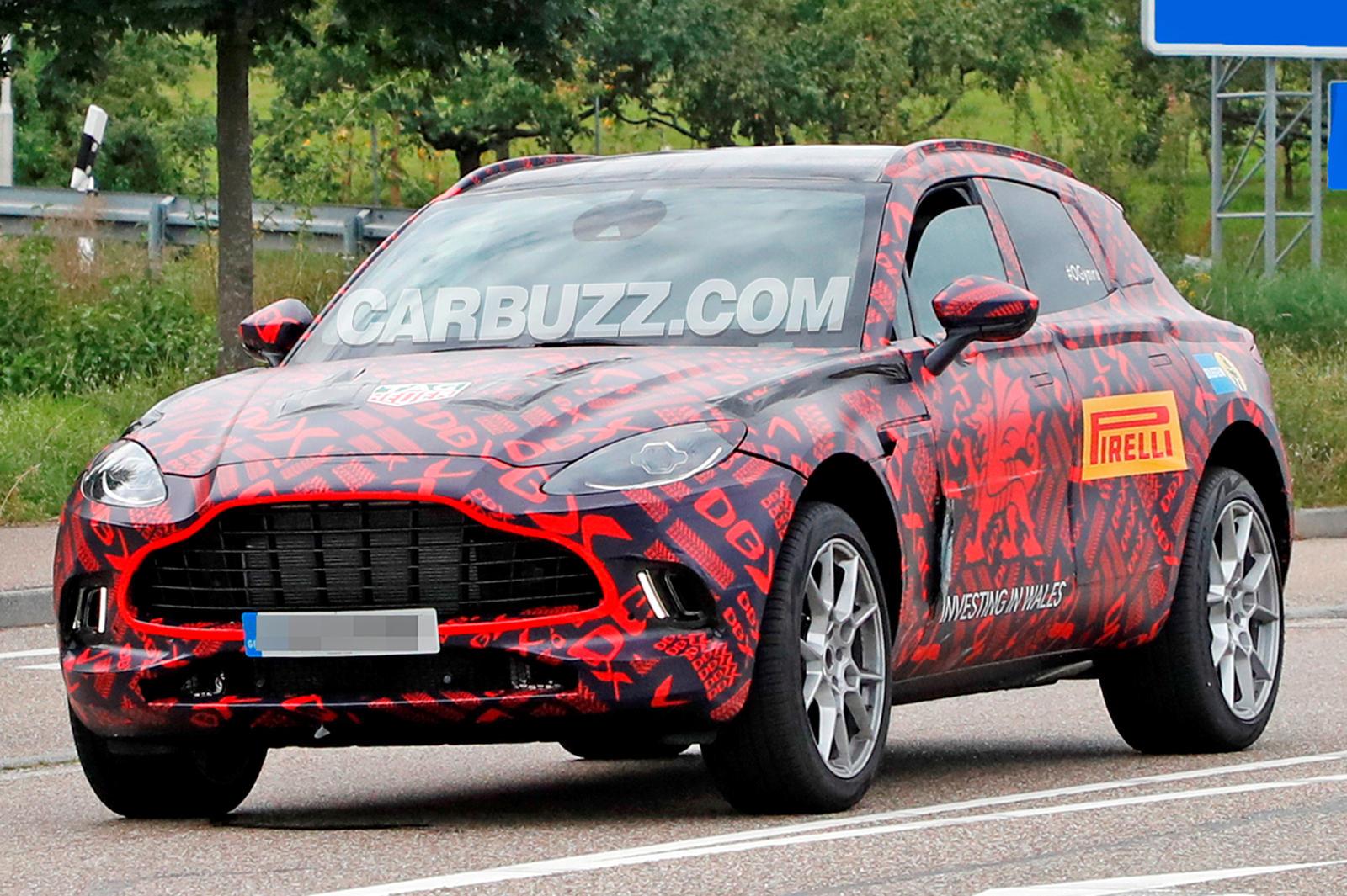 Aston Martin Ready To Fight Porsche Cayenne