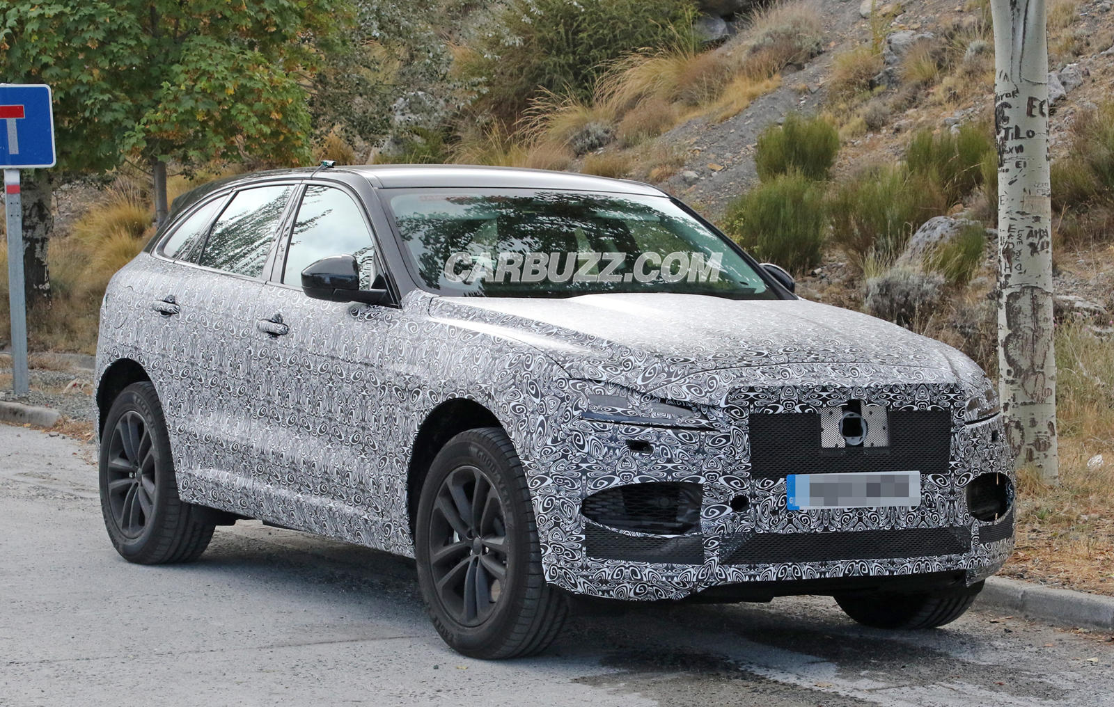 What Is Jaguar Trying To Hide With This New F-Pace?