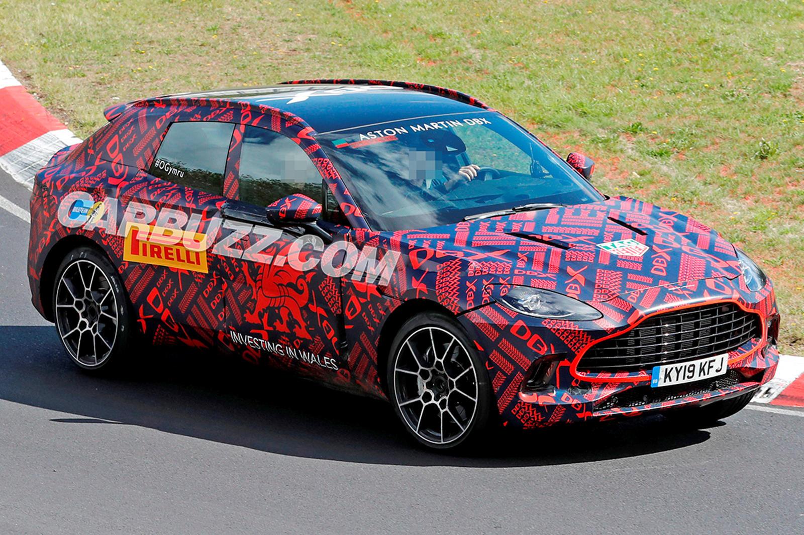 Aston Martin DBX Spied Attacking The Nurburgring