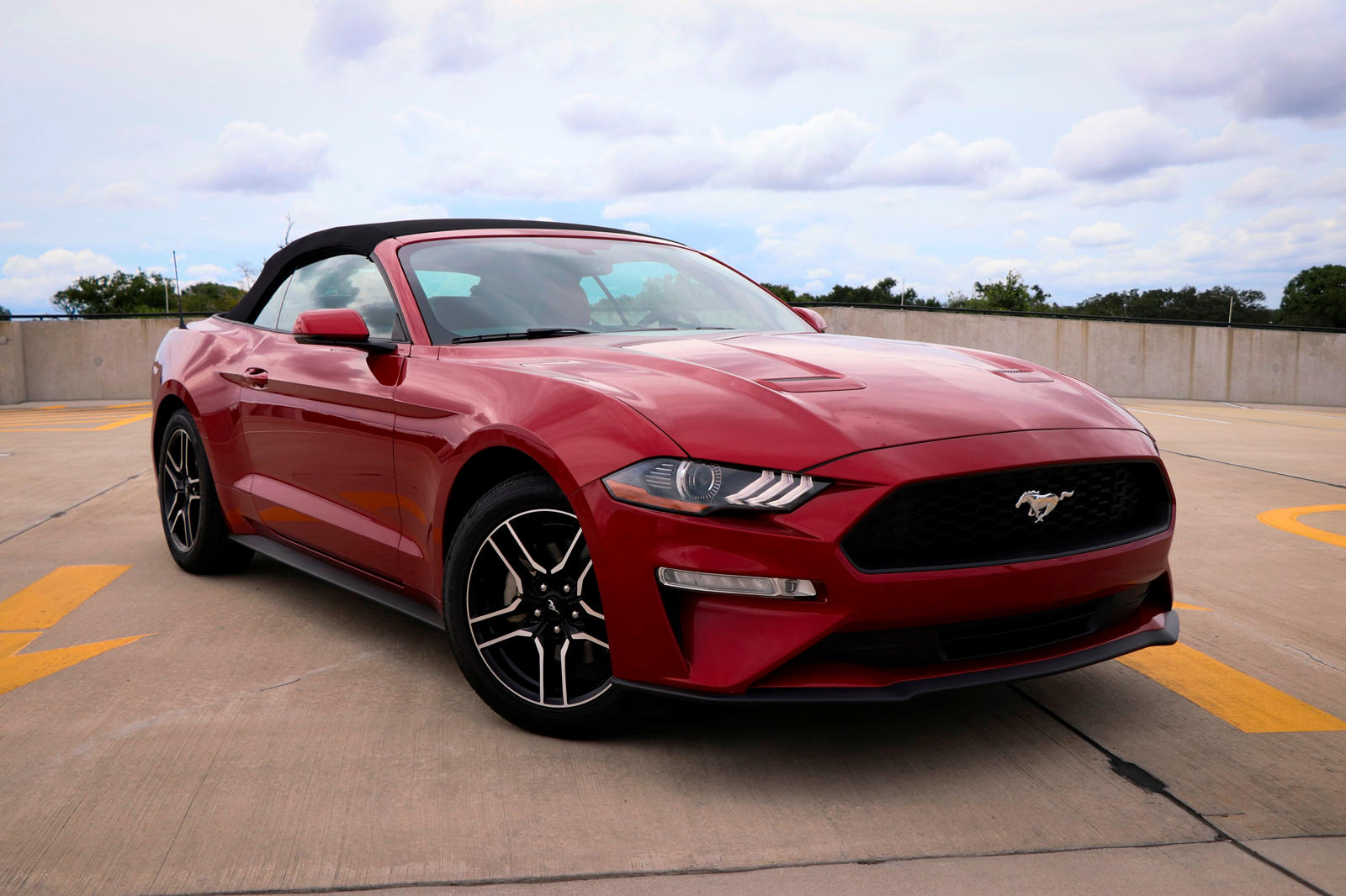 2019 Ford Mustang Convertible Review Trims Specs Price New Interior Features Exterior Design And Specifications Carbuzz