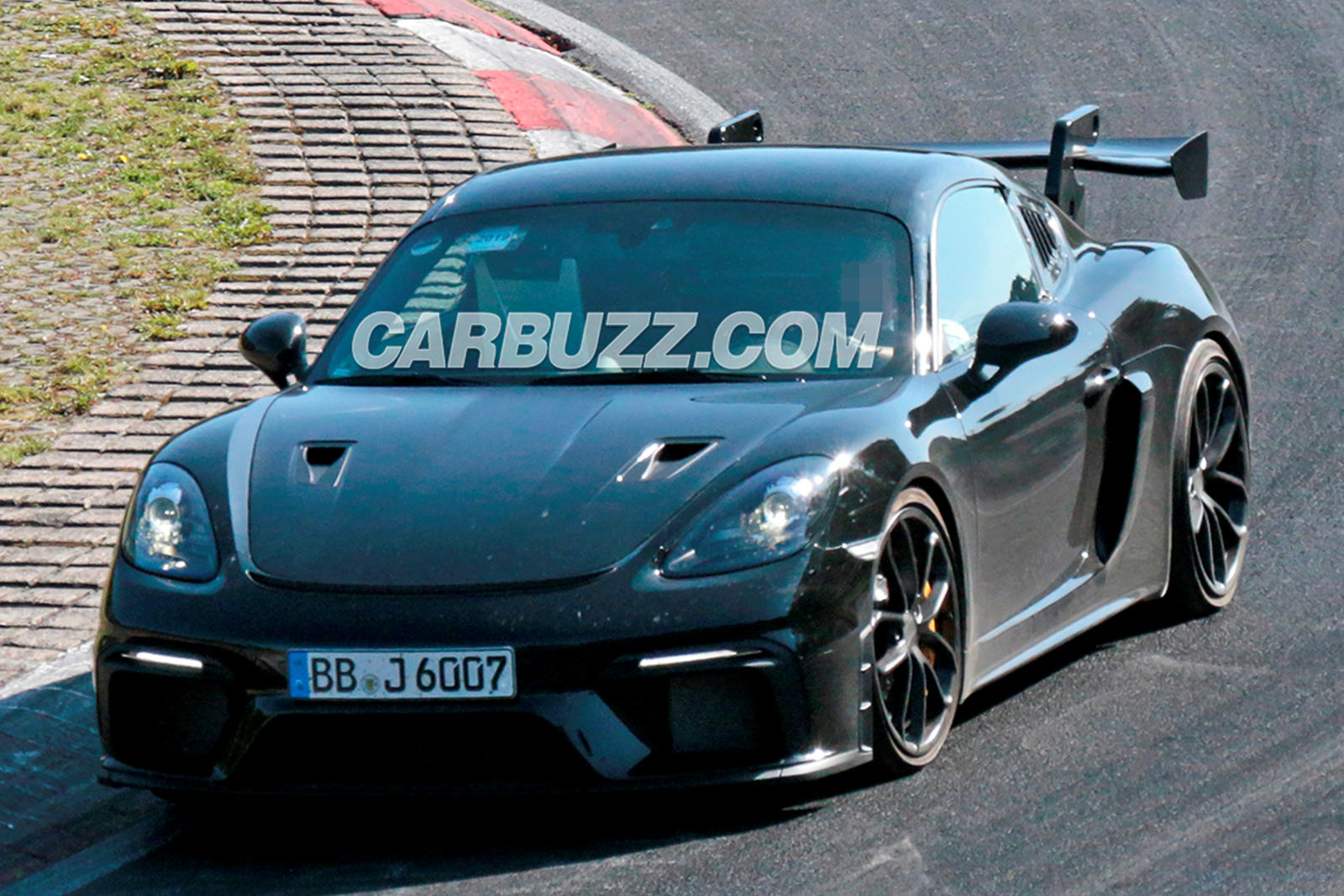Hardcore Porsche Cayman GT4 RS Tears Up The Track