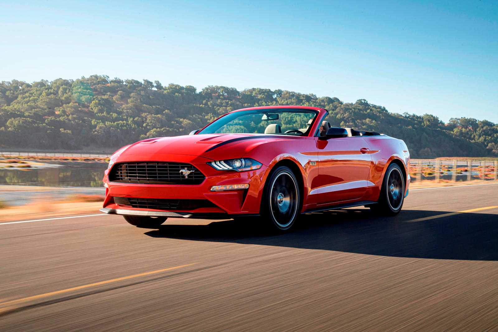 2021 Ford Mustang Convertible Review Trims Specs Price New Interior Features Exterior Design And Specifications Carbuzz
