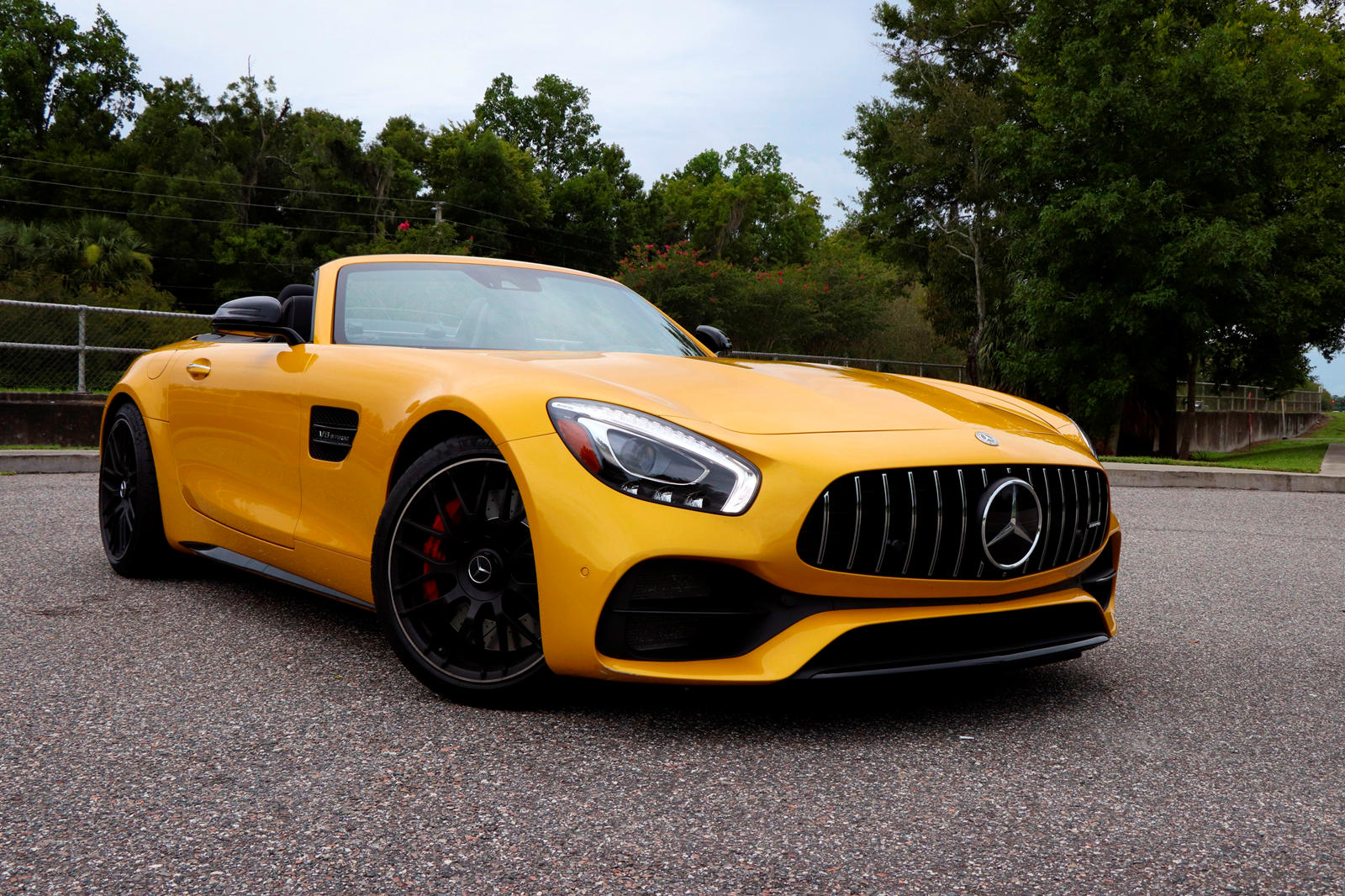 2019 Mercedes-AMG GT C Roadster Test Drive Review: Bold And Brash