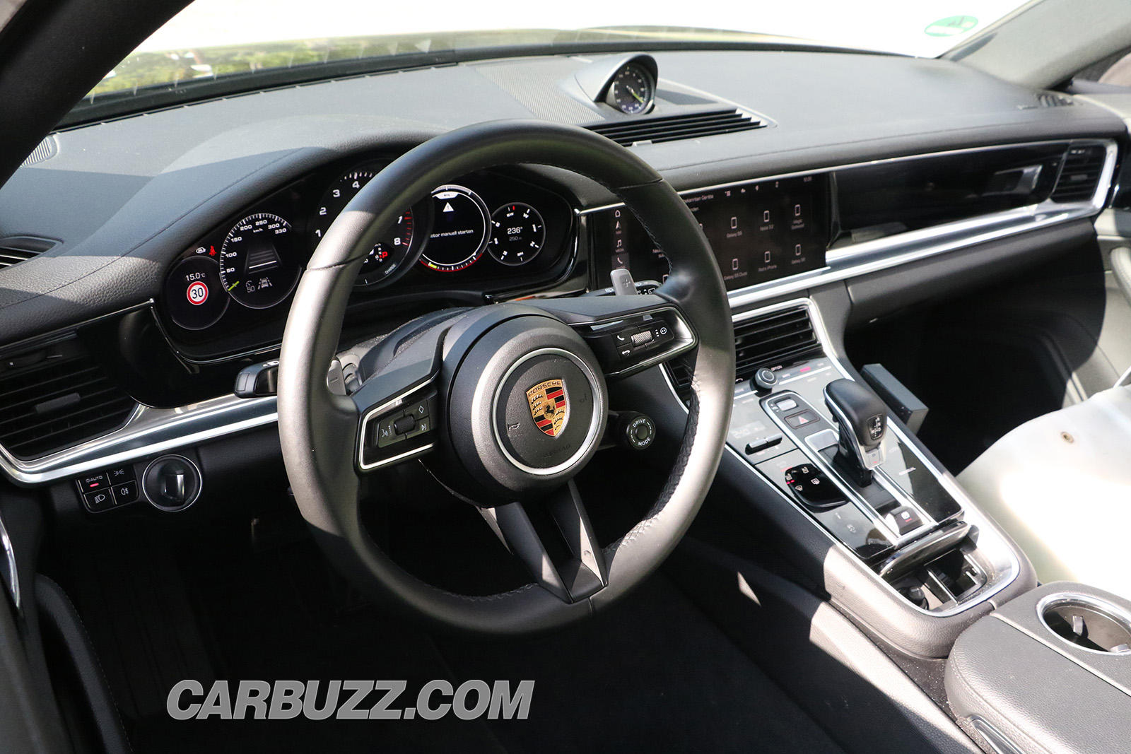 Take A First Look Inside The 2020 Porsche Panamera Facelift Carbuzz