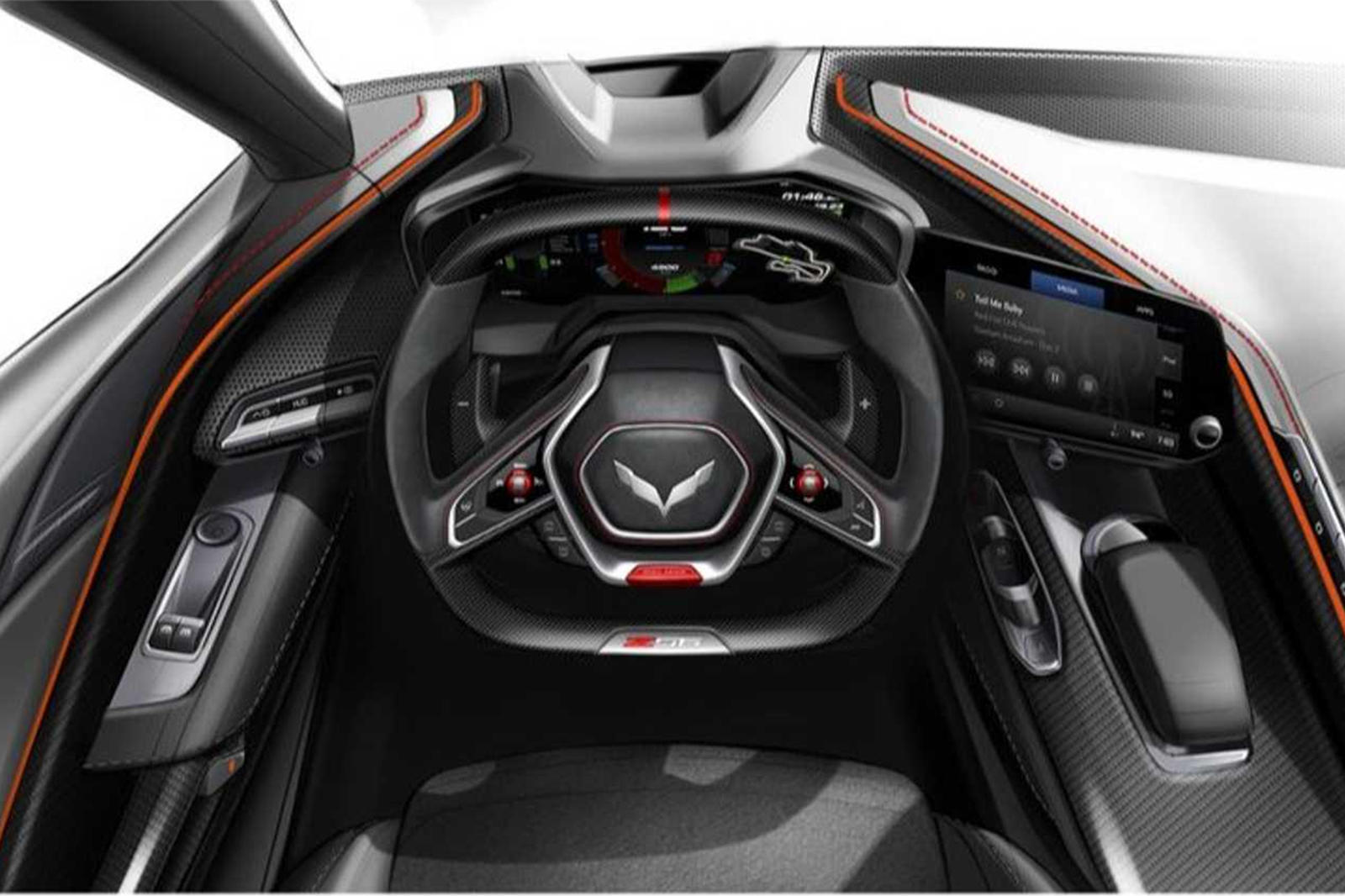 first look inside the new corvette z06 carbuzz carbuzz