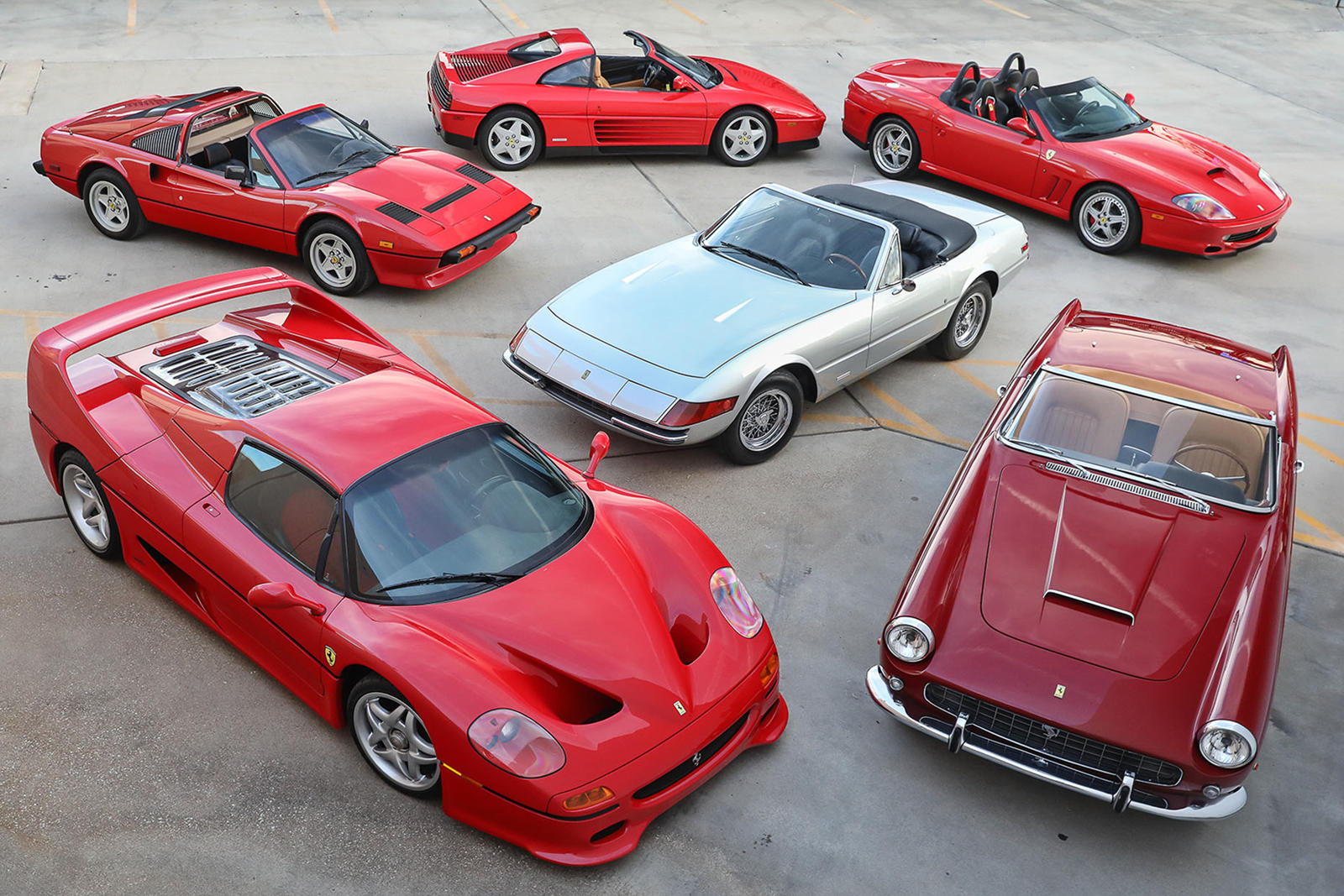 Ultimate Collection Of Ferrari Spiders Up For Grabs
