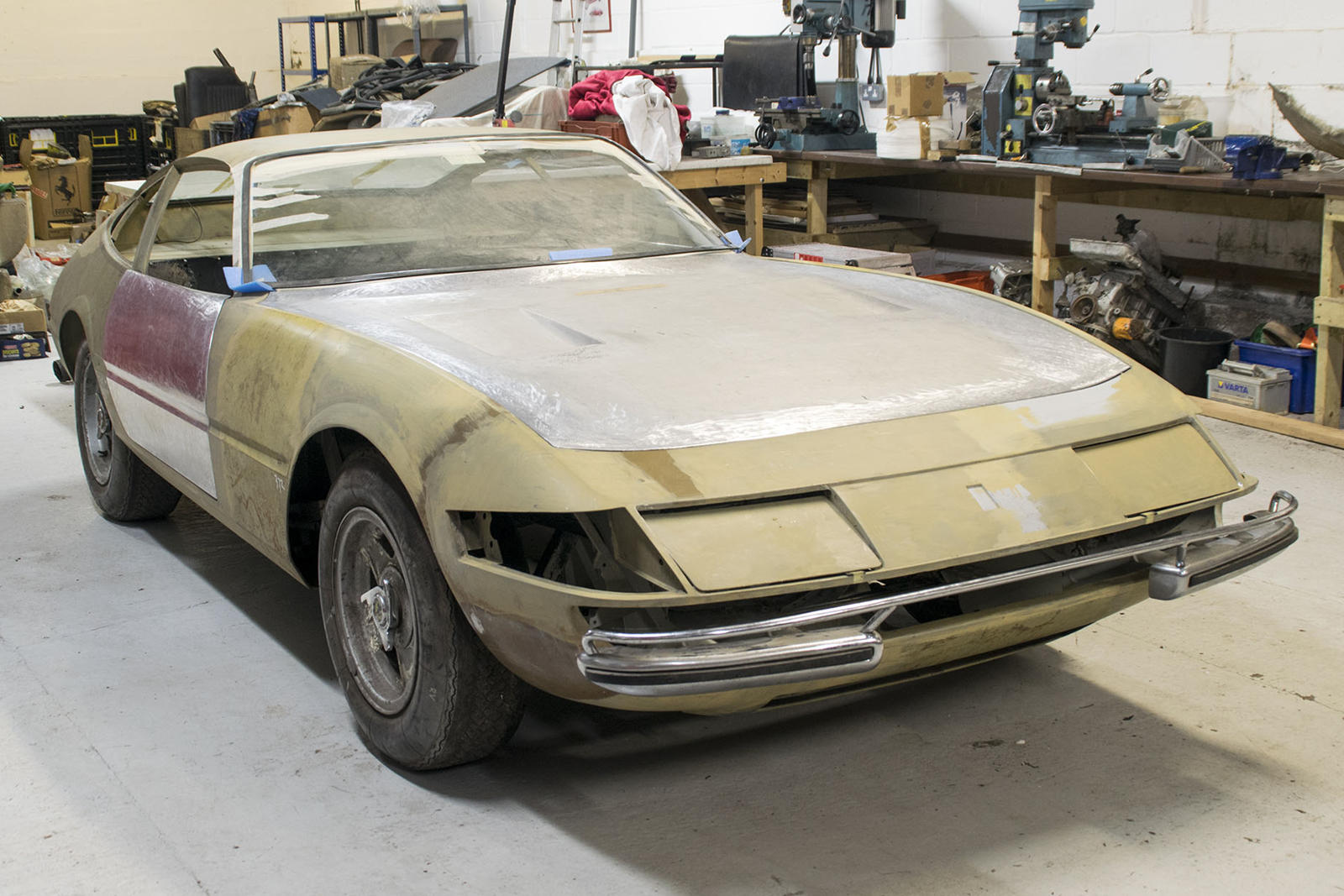 Restoring This Classic Ferrari Daytona Would Be Our Dream Project