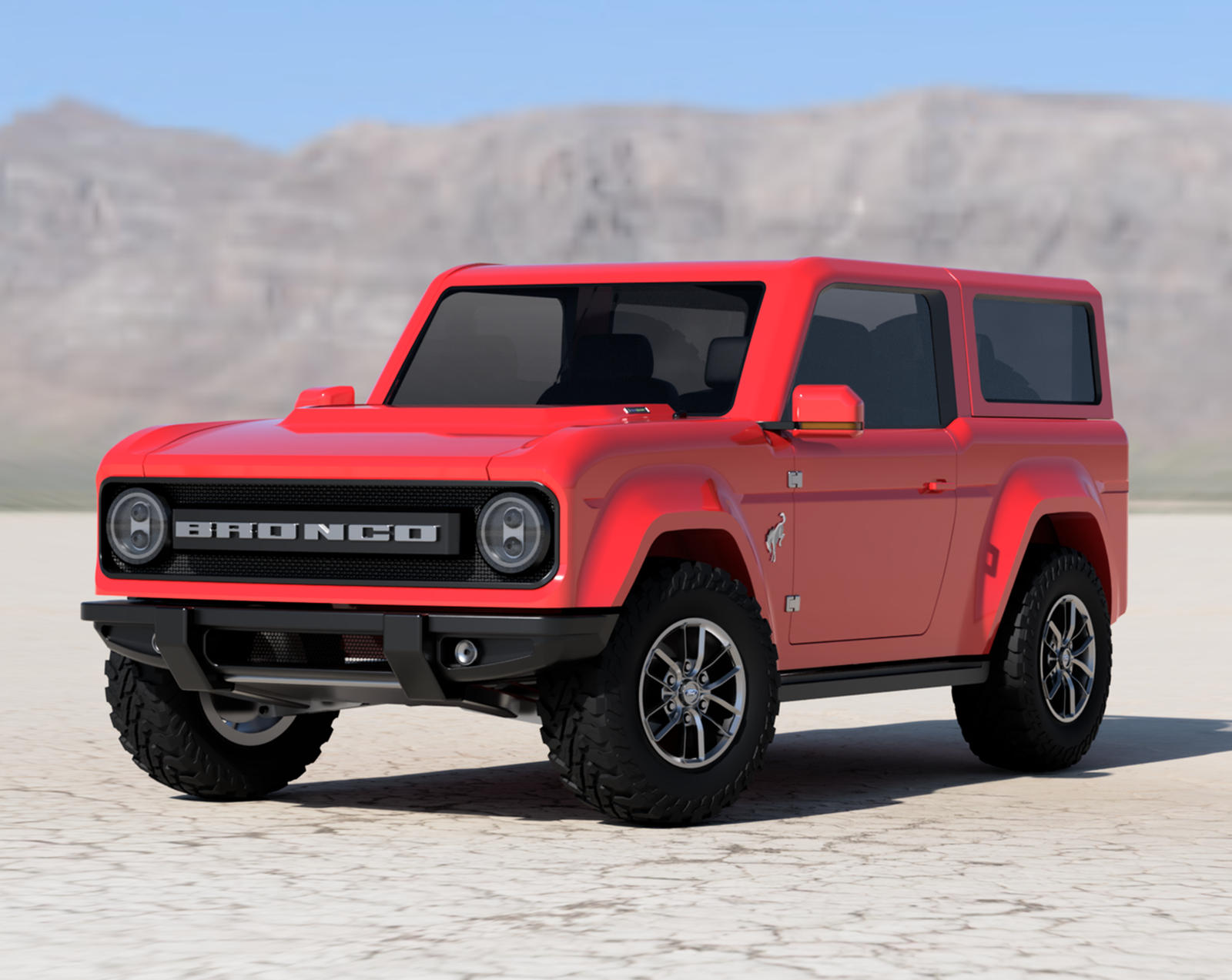 Best Look Yet At 2021 Ford Bronco