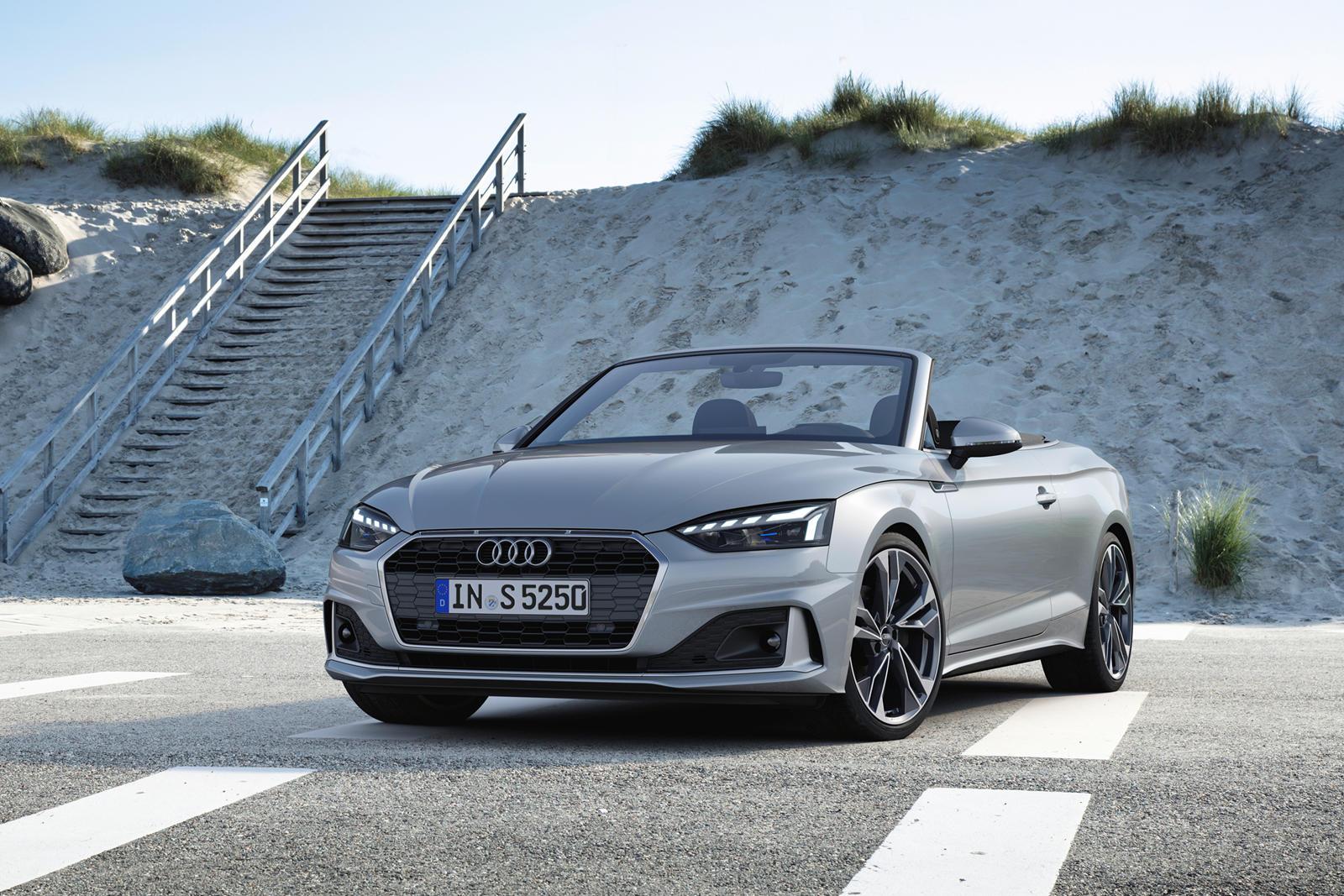 2021 Audi A5 Convertible Trims & Specs | CarBuzz