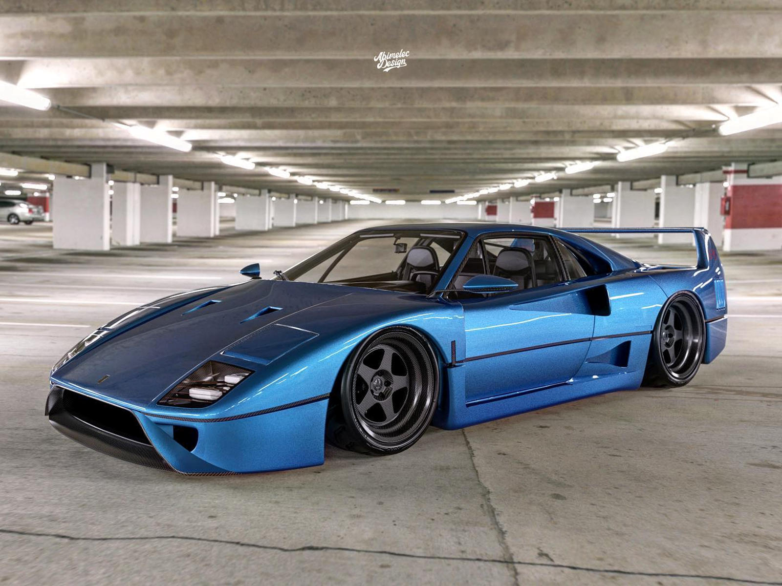 The Ferrari F40 And Ford GT Have Given Birth