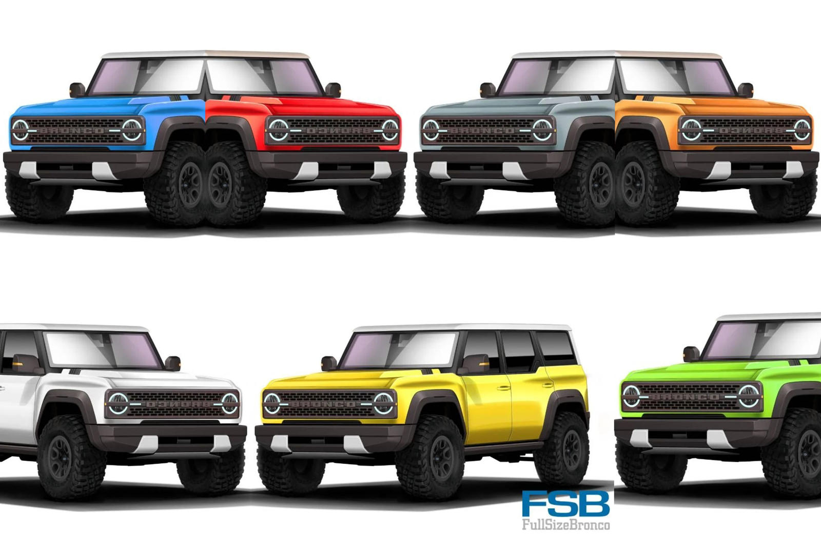 Leaked Here Are The Colors For The New Ford Bronco Carbuzz